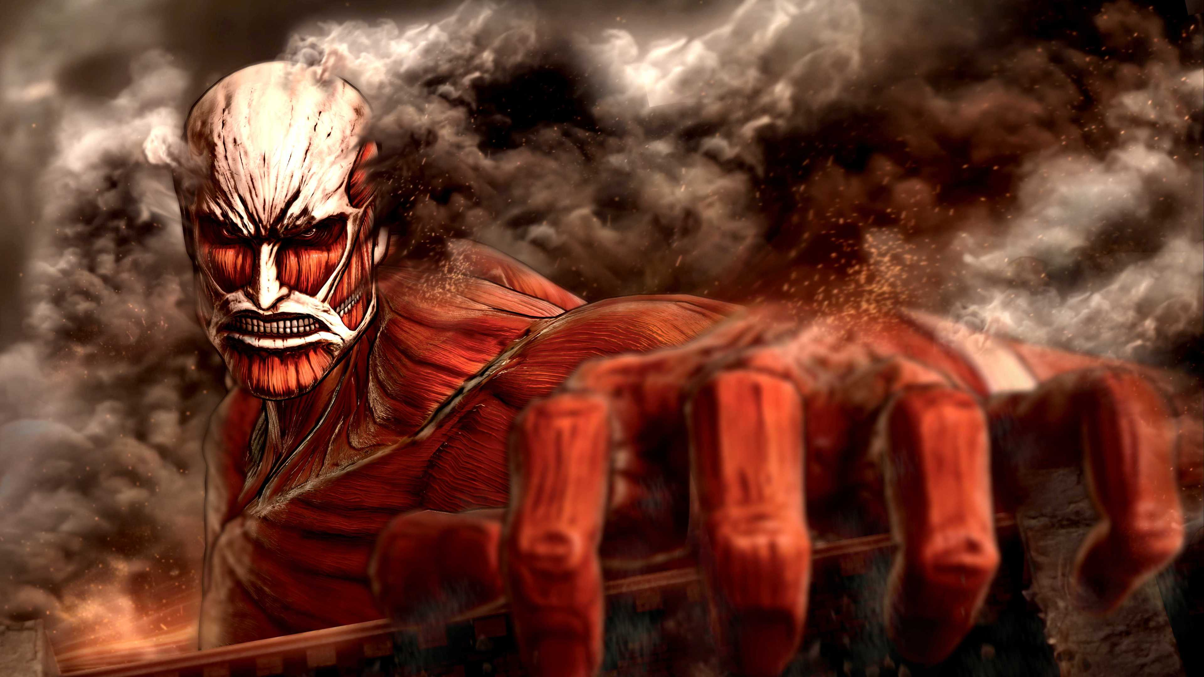 Wallpaper 4k Attack On Titan 4k Wallpapers Anime Wallpapers