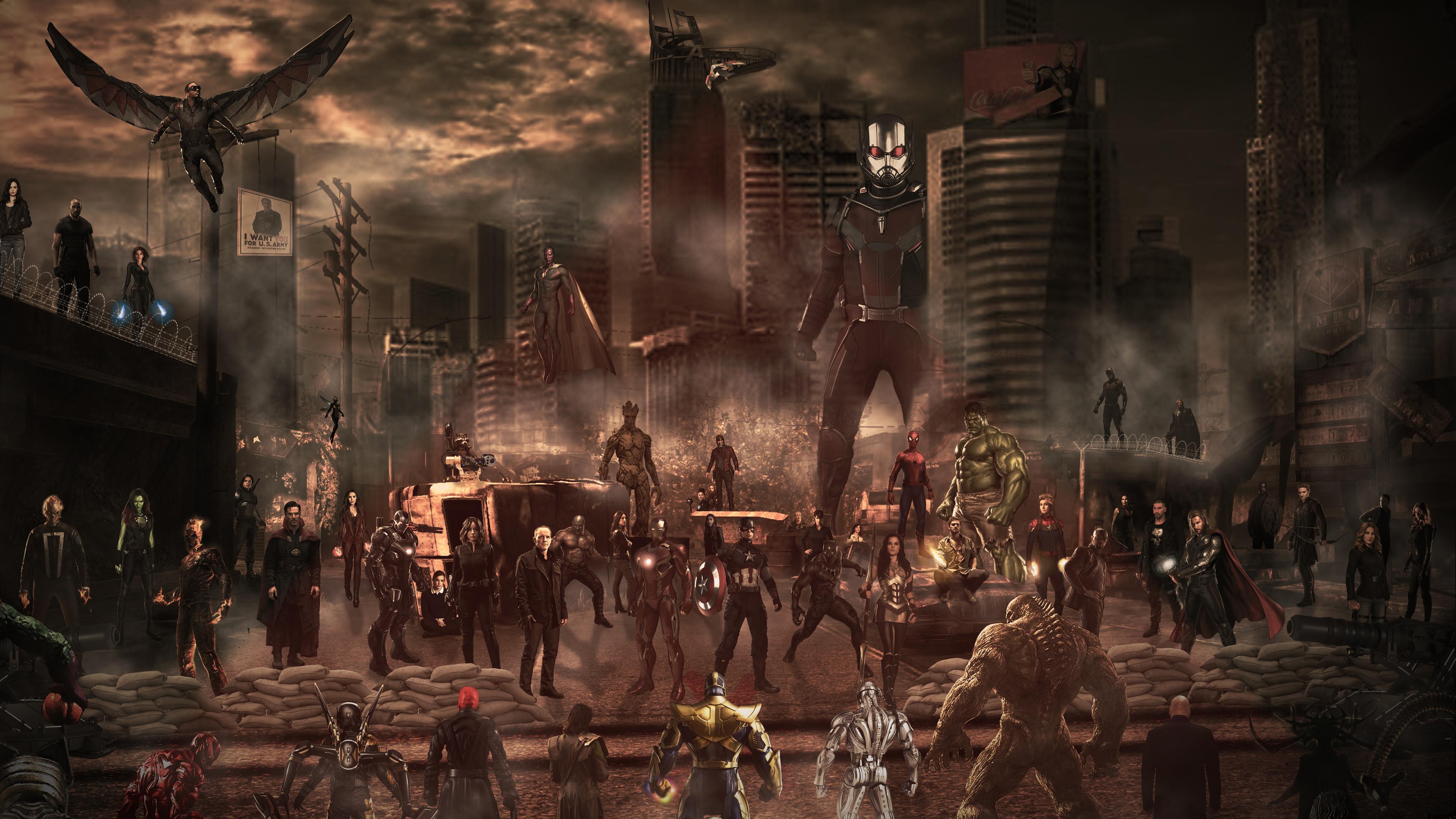 avengers heroes vs villains 1541294345 - Avengers Heroes Vs Villains - superheroes wallpapers, hd-wallpapers, deviantart wallpapers, avengers-wallpapers, artwork wallpapers, artist wallpapers, 5k wallpapers, 4k-wallpapers