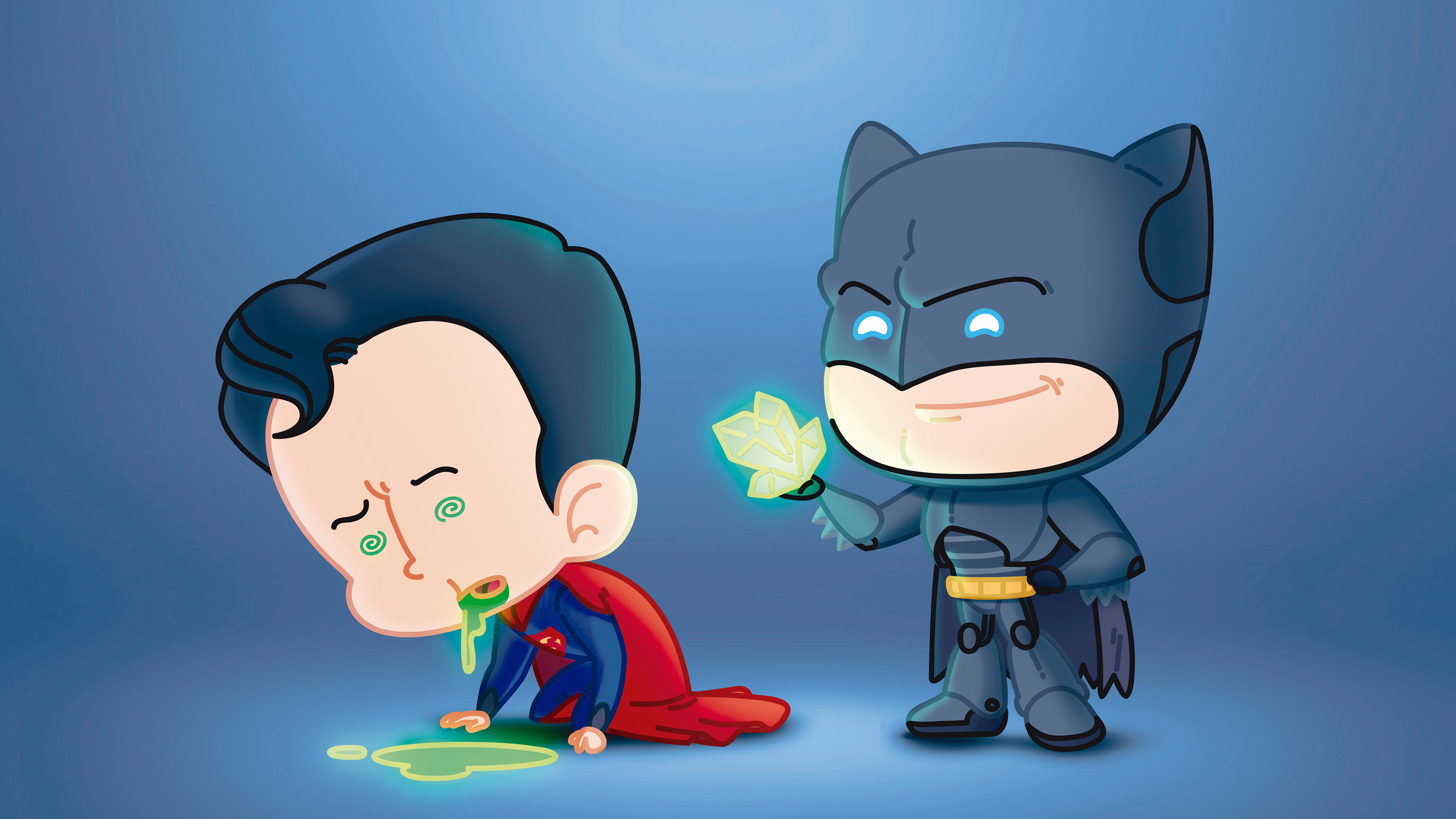 batman and superman fat heads 1543620077 - Batman And Superman Fat Heads - supervillain wallpapers, superman wallpapers, superheroes wallpapers, hd-wallpapers, digital art wallpapers, behance wallpapers, batman wallpapers, artwork wallpapers, artist wallpapers, 4k-wallpapers