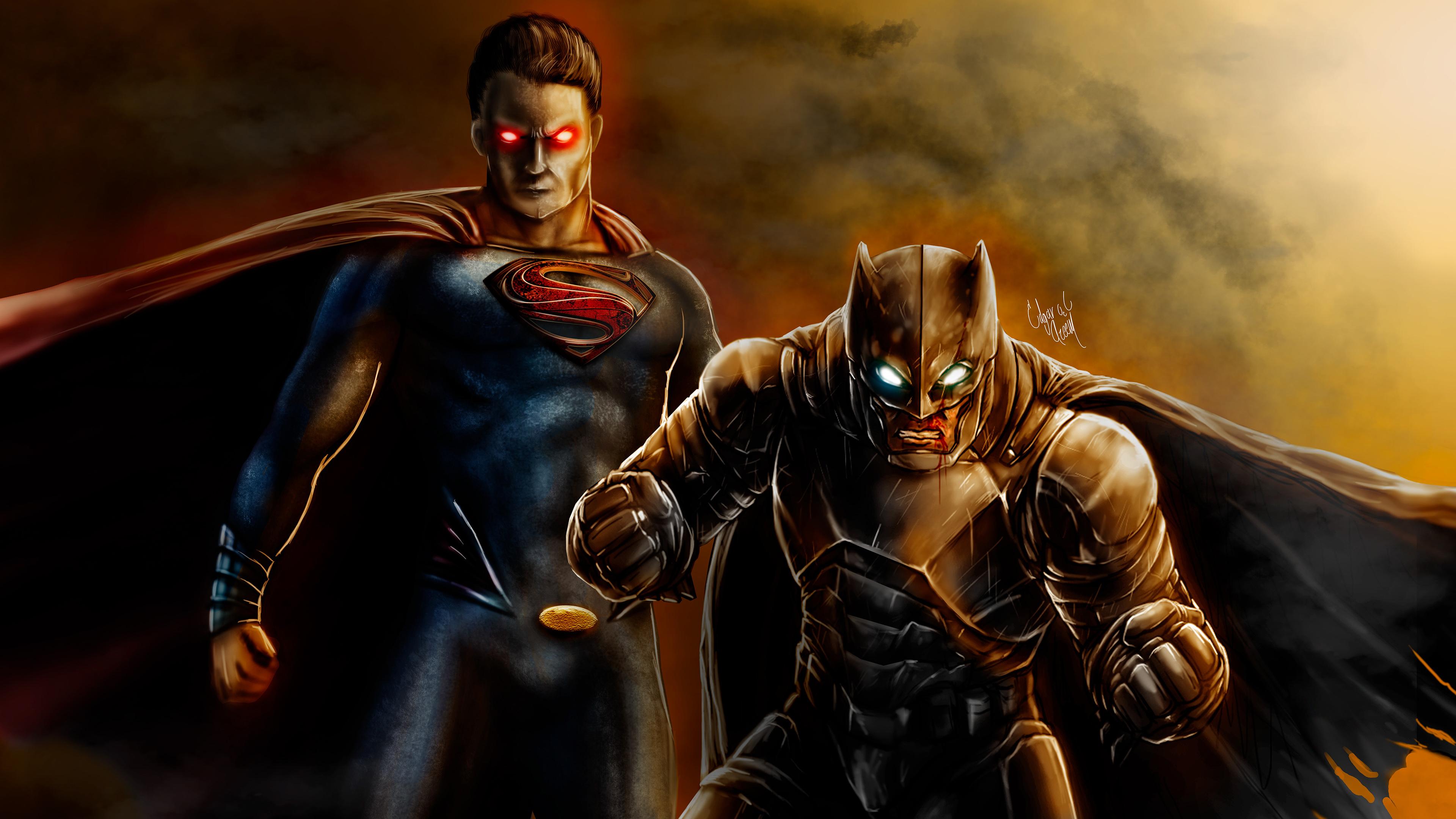 batman superman 4k 1543620271 - Batman Superman 4k - superman wallpapers, superheroes wallpapers, hd-wallpapers, digital art wallpapers, behance wallpapers, batman wallpapers, artwork wallpapers, 4k-wallpapers