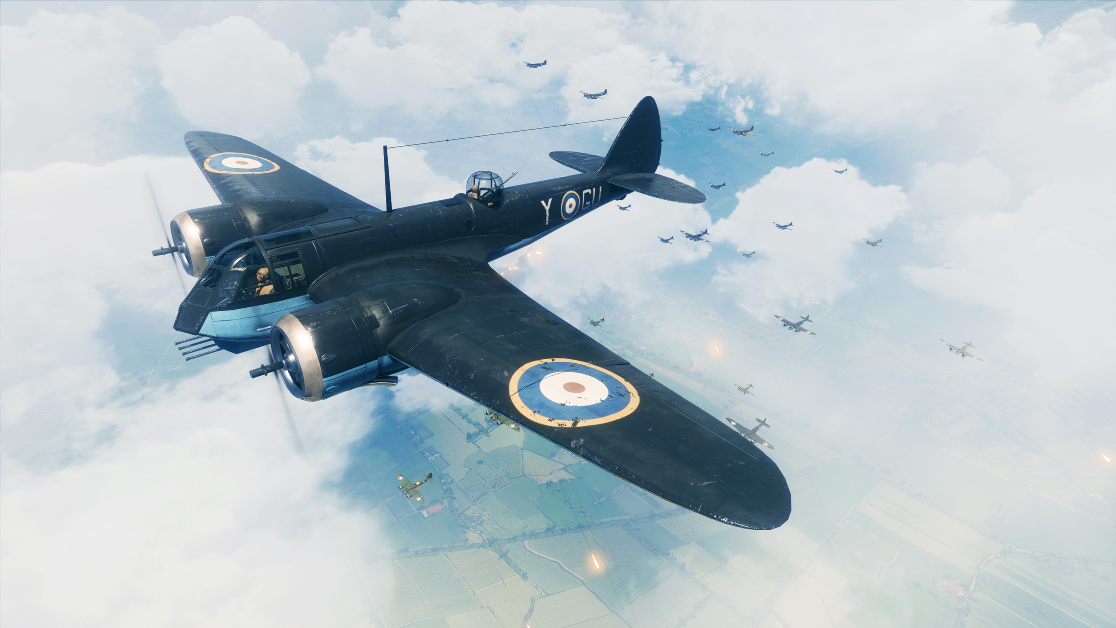 Wallpaper 4k Battlefield V Plane Fight 4k 2018 Games