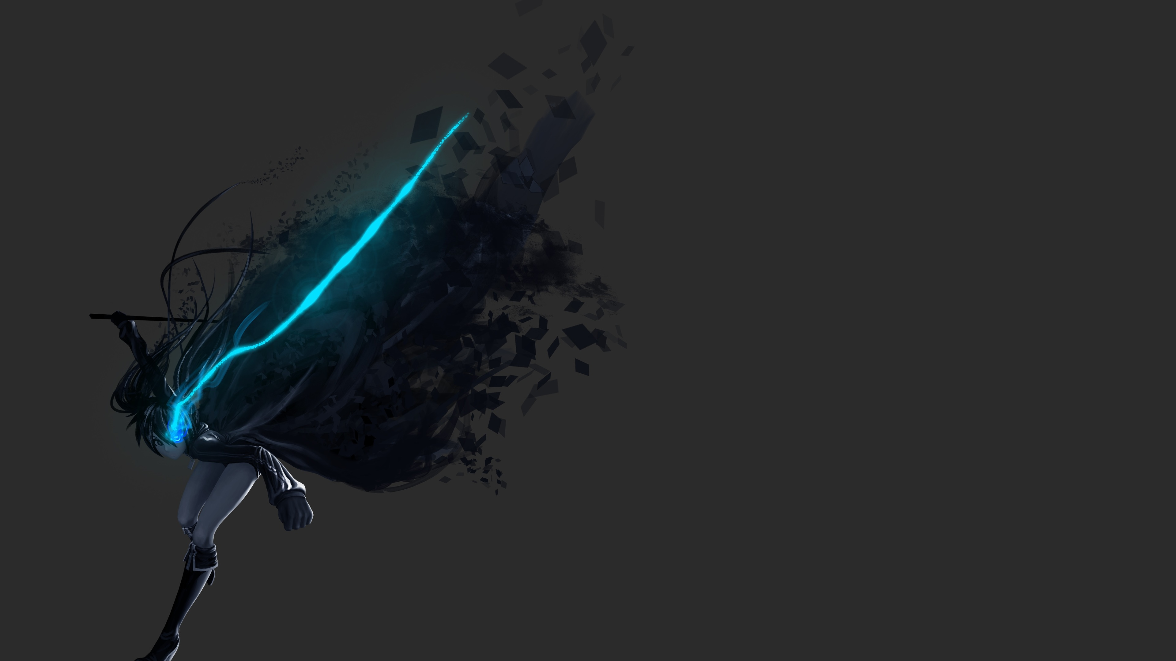 black rock shooter 4k 1541974651 - Black Rock Shooter 4k - hd-wallpapers, black rock shooter wallpapers, anime wallpapers, anime girl wallpapers, 4k-wallpapers