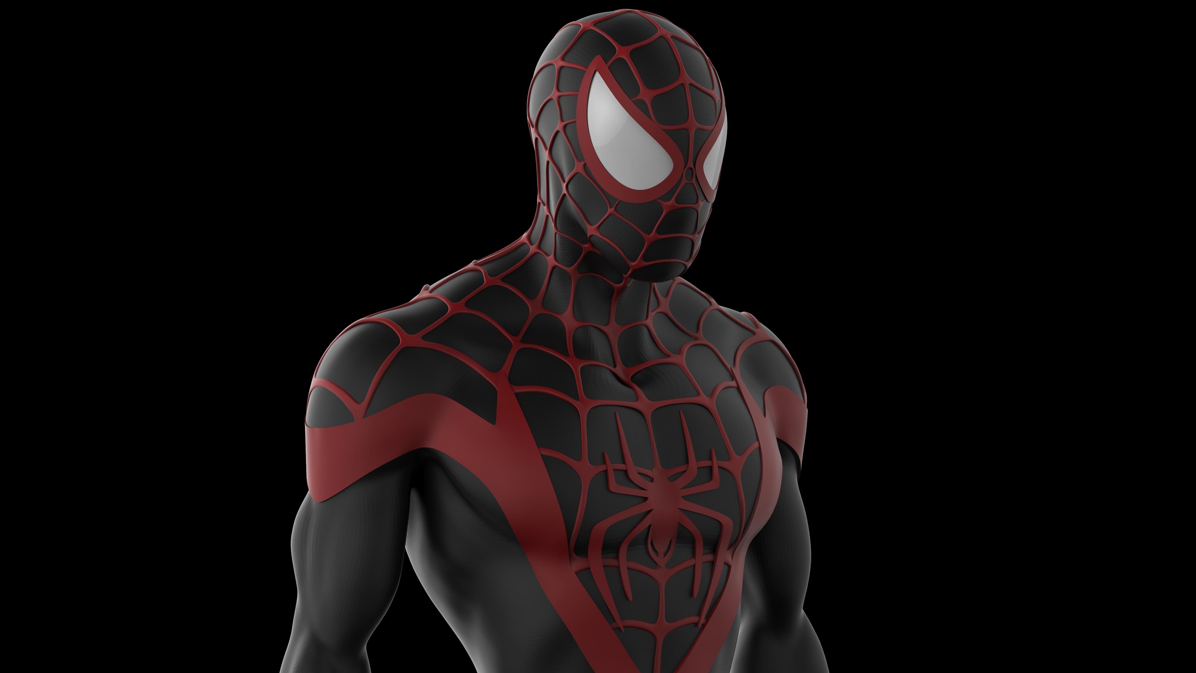 Wallpaper 4k Black Spiderman 4k Artwork 4k Wallpapers