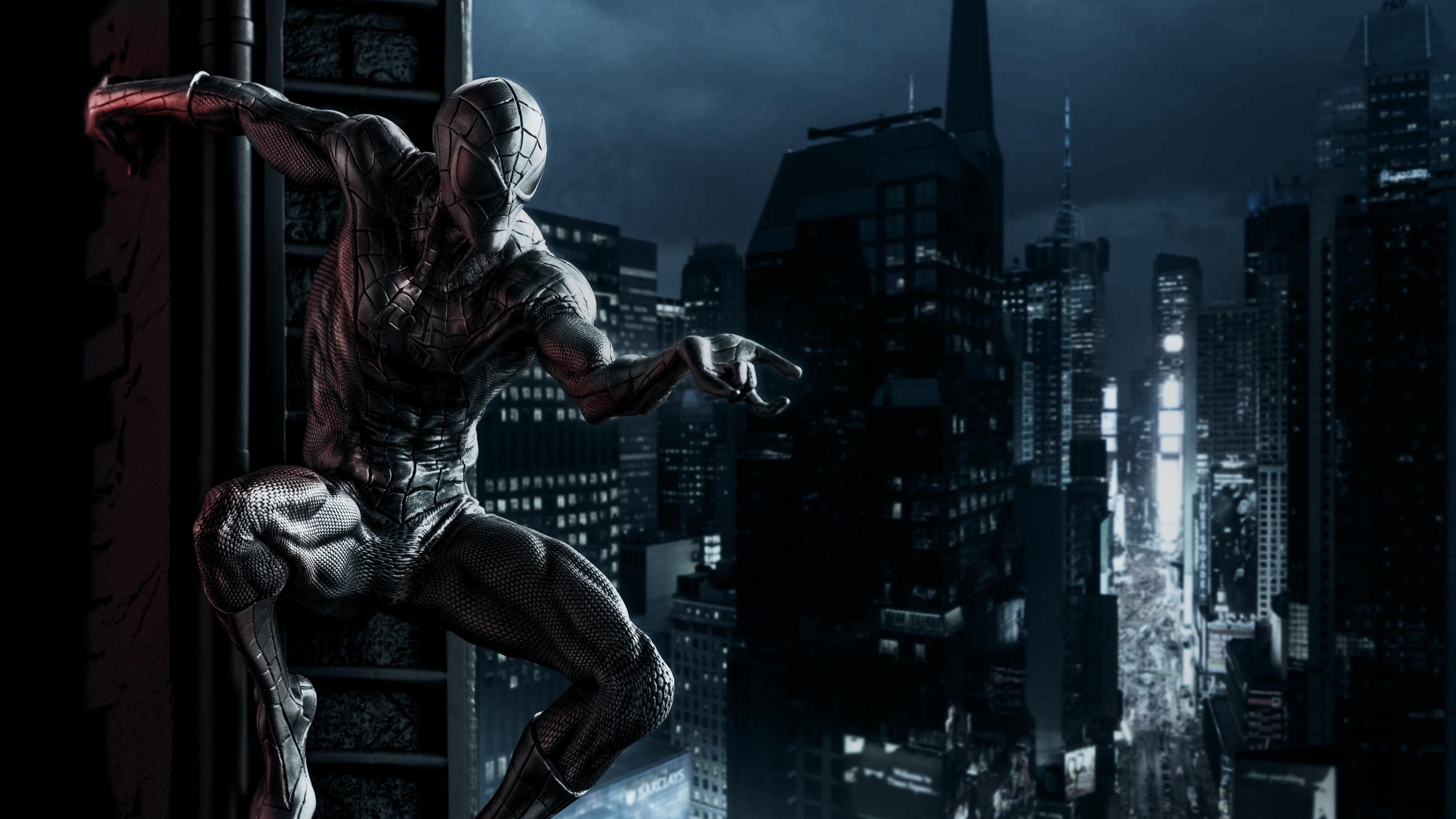 Wallpaper 4k Black Spiderman 4k 4k Wallpapers Artwork