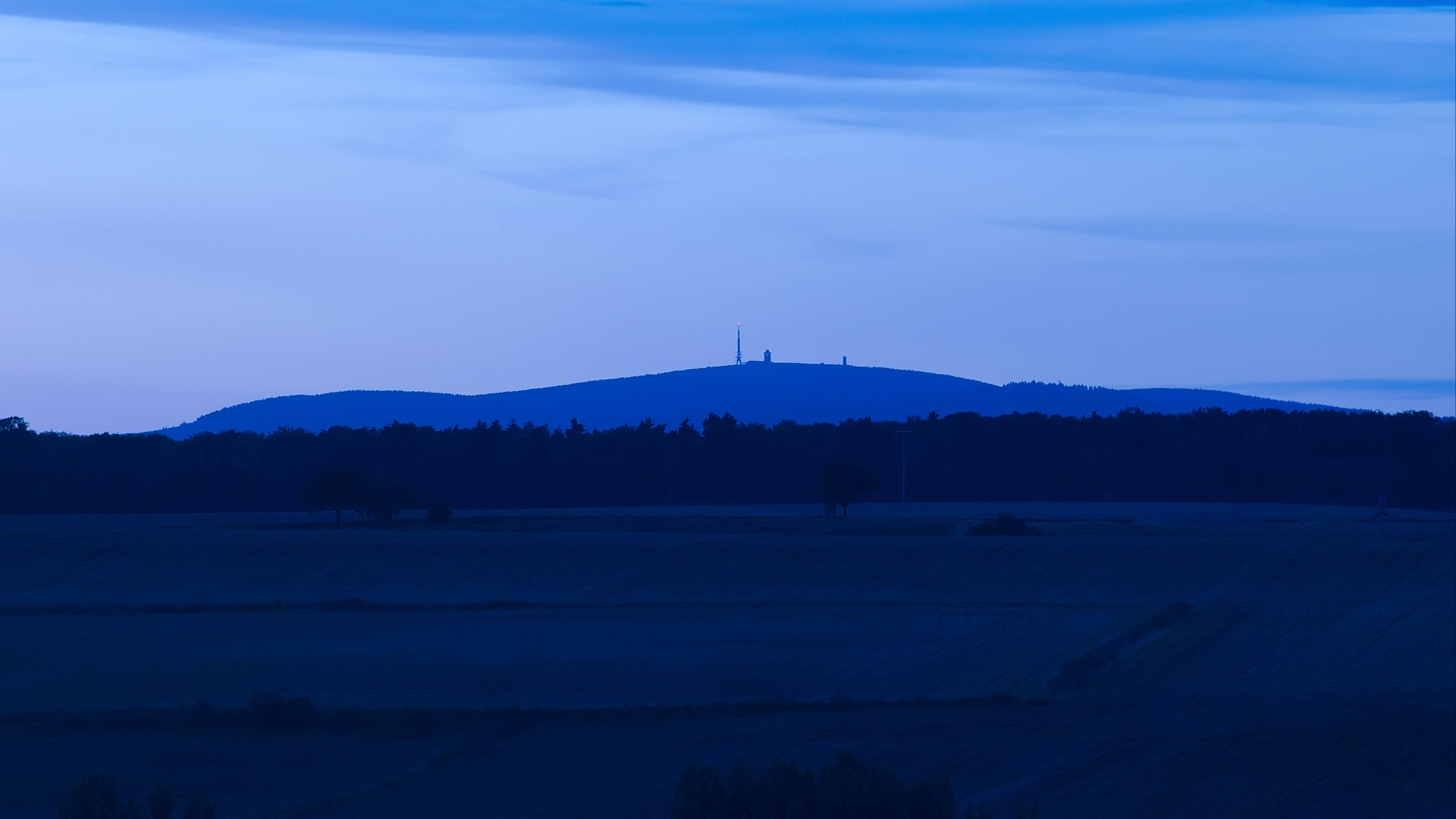 blue sky evening 4k 1541114097 - blue, sky, evening 4k - Sky, Evening, blue