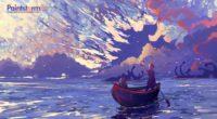 boat silhouettes sea art clouds 4k 1541971383 200x110 - boat, silhouettes, sea, art, clouds 4k - silhouettes, Sea, Boat