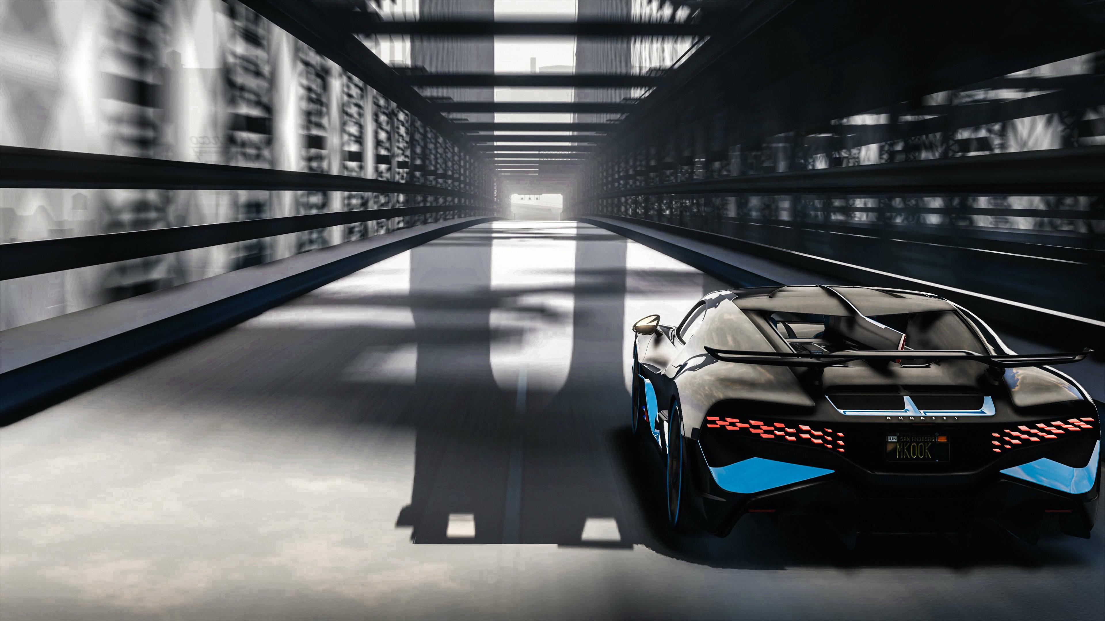 Wallpaper 4k Bugatti Divo Bridge 4k 2018 2018 Cars Wallpapers 4k