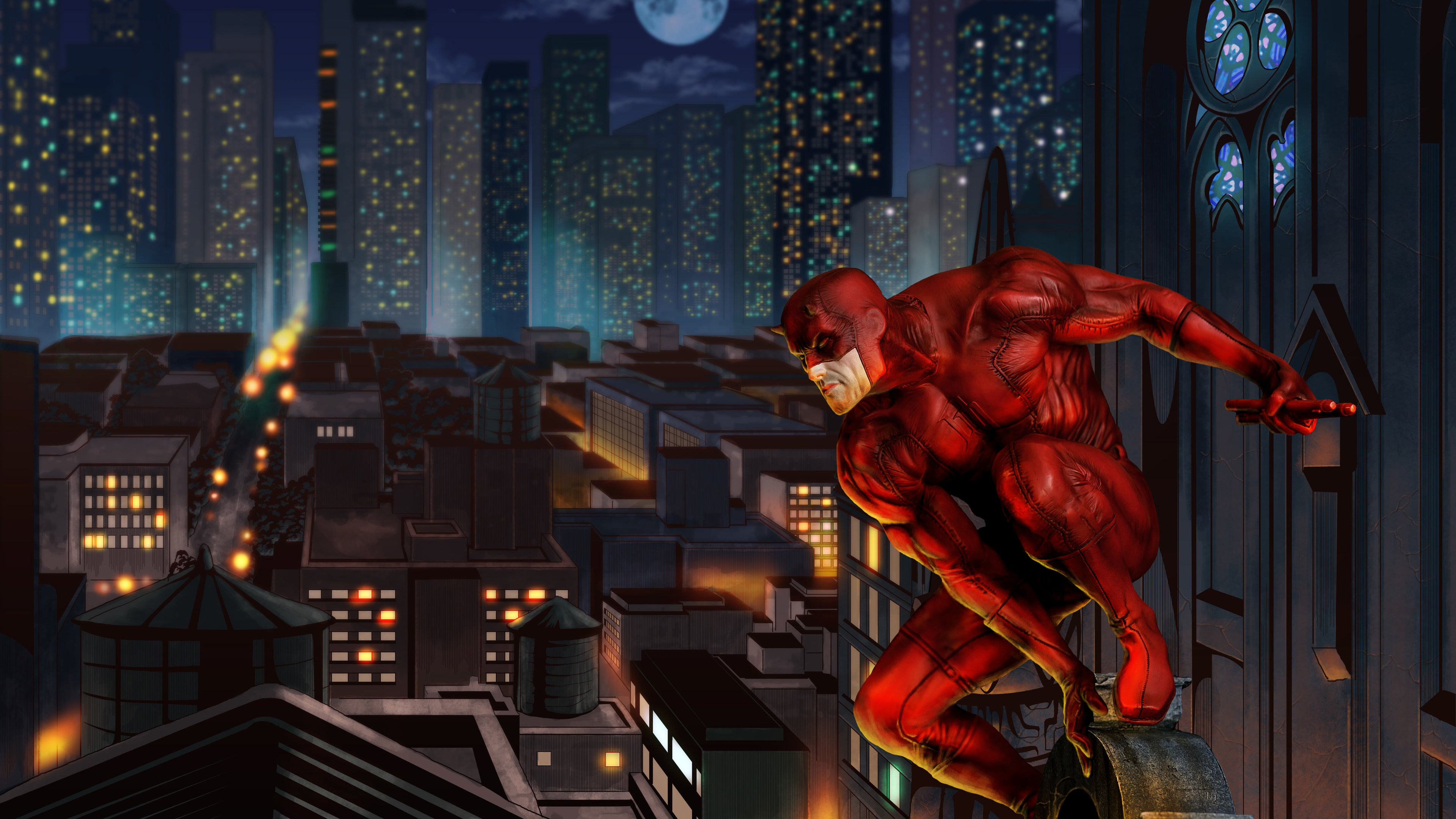 daredevil 4k 2018 1543618786 - Daredevil 4k 2018 - superheroes wallpapers, hd-wallpapers, daredevil wallpapers, 4k-wallpapers