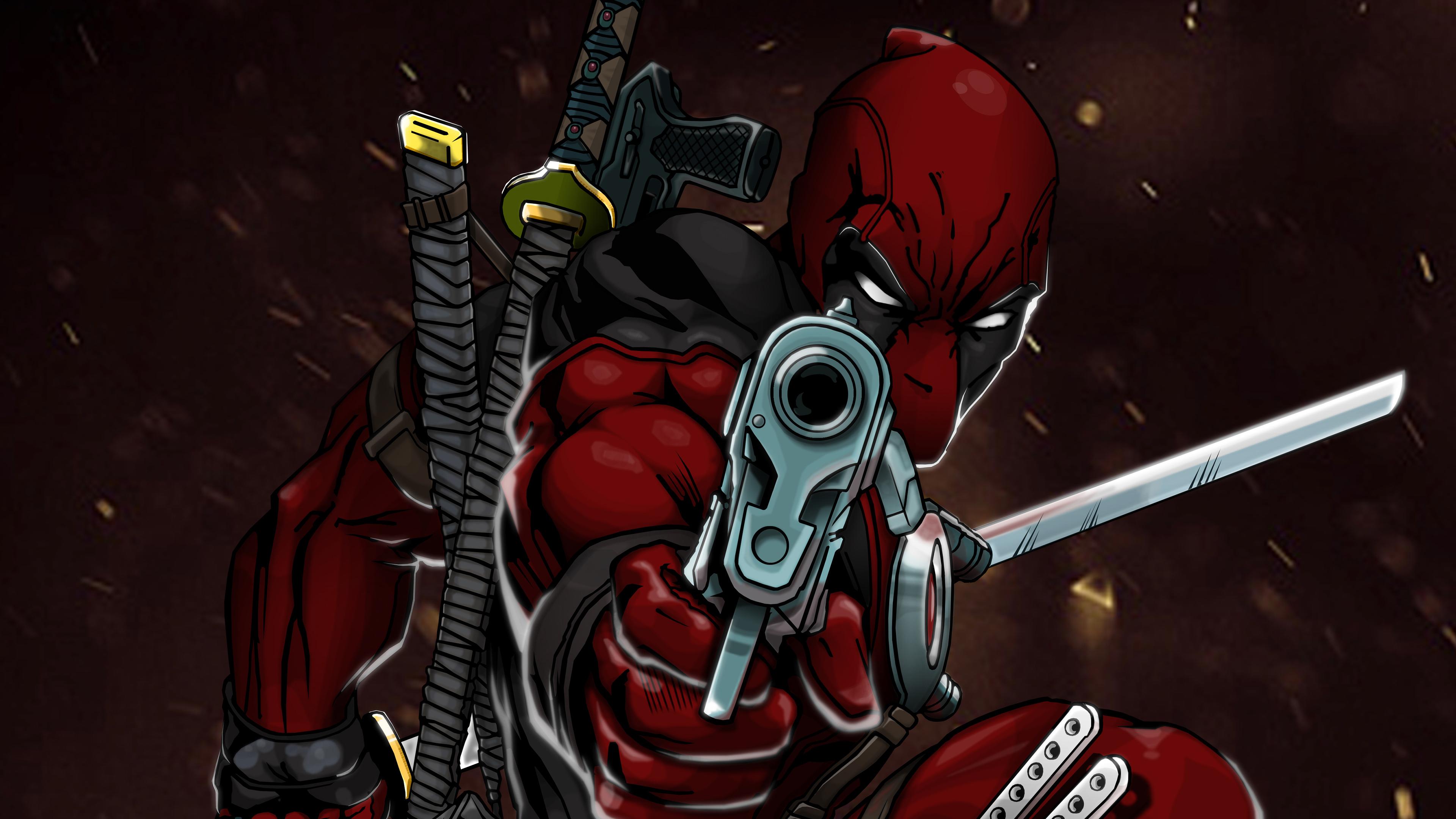 deadpool 4k art 1543620267 - Deadpool 4k Art - superheroes wallpapers, hd-wallpapers, digital art wallpapers, deadpool wallpapers, behance wallpapers, artwork wallpapers, art wallpapers, 4k-wallpapers