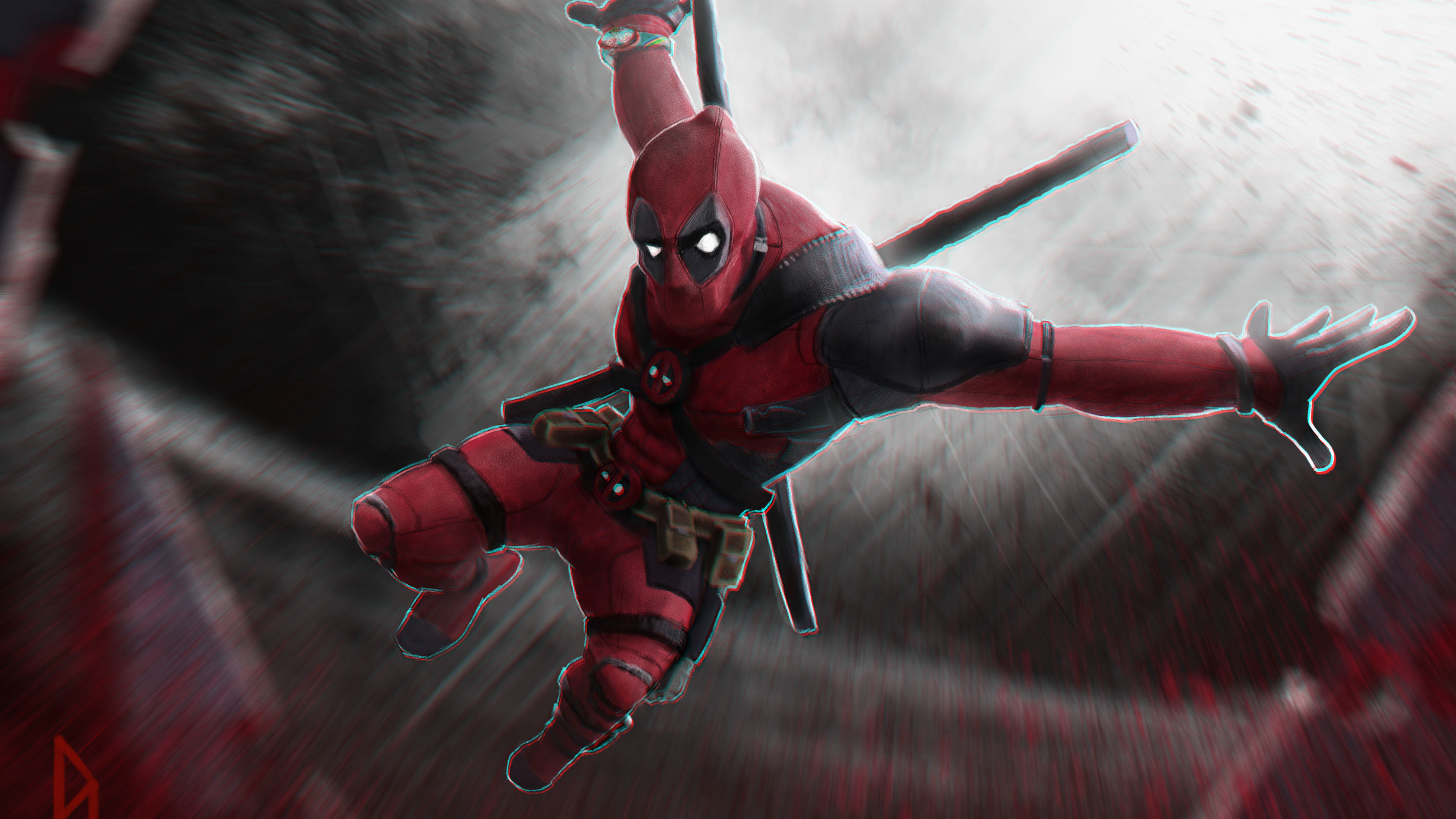 Wallpaper 4k Deadpool 4k New Art 4k Wallpapers Artist Wallpapers