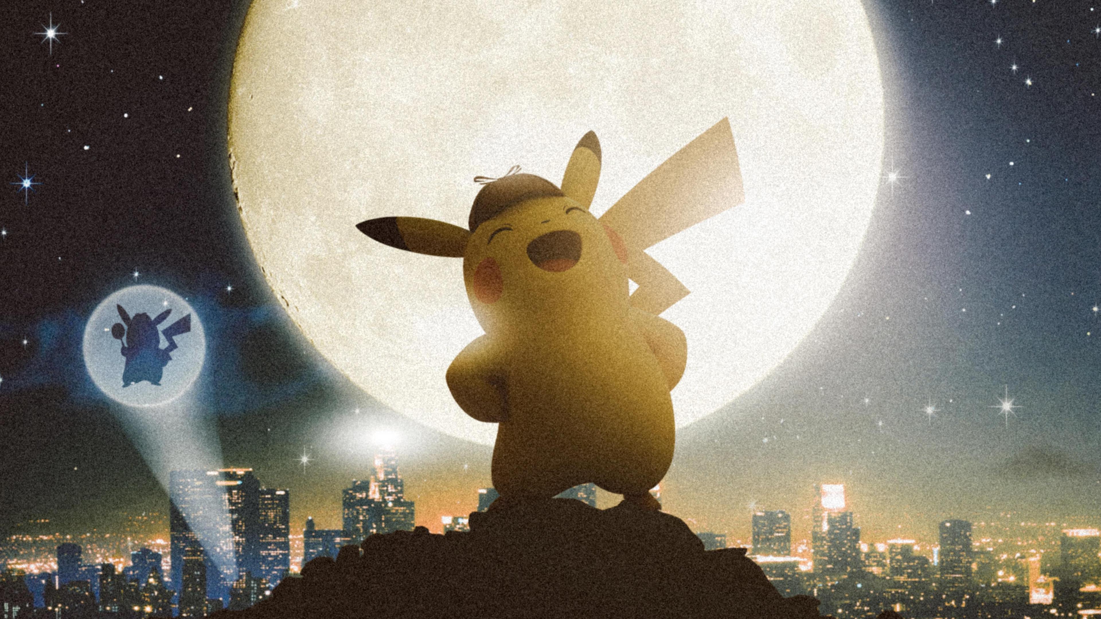 Wallpaper 4k Detective Pikachu 4k 2019 Movies Wallpapers 4k