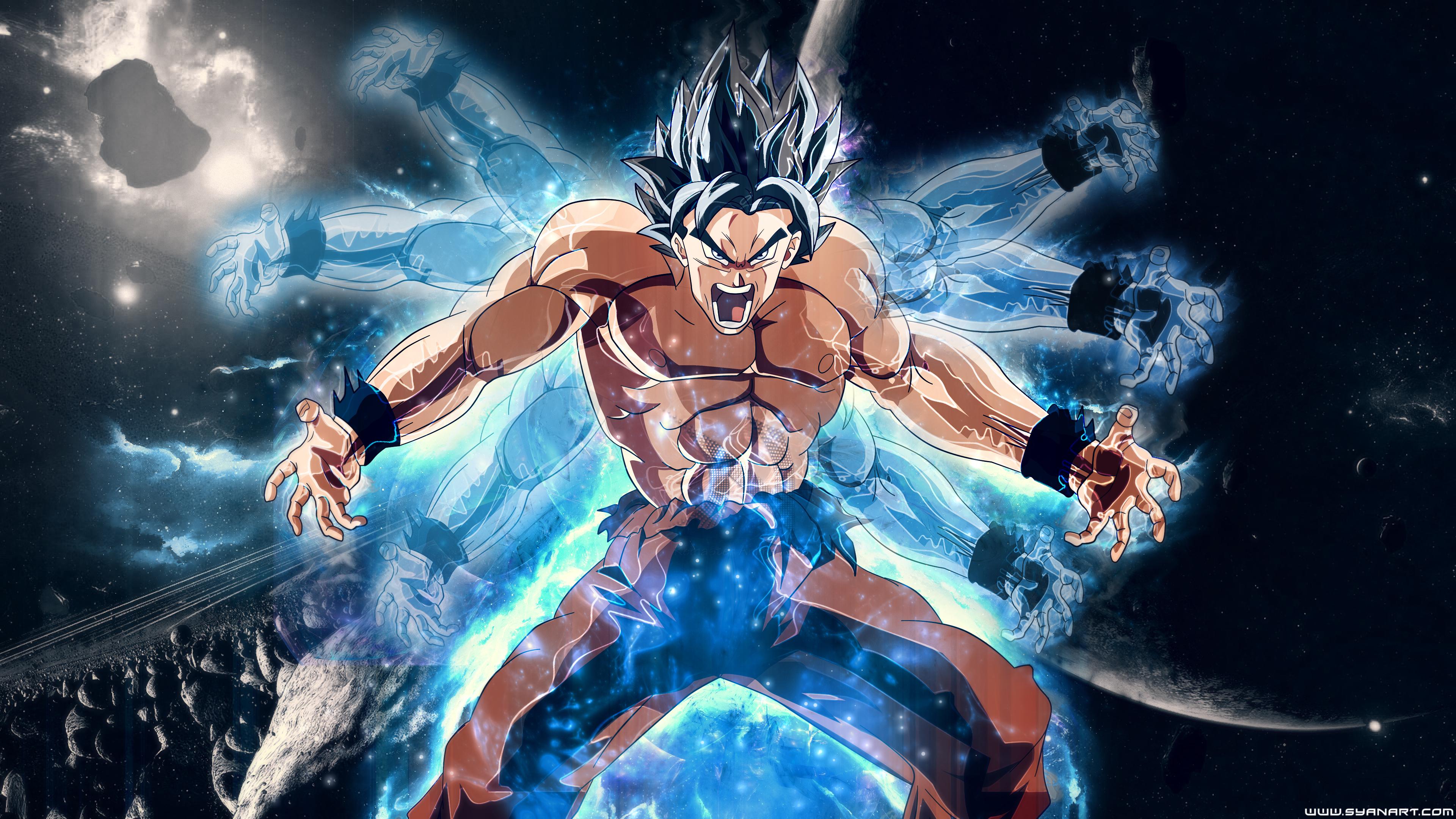 dragon ball super goku 4k 1541973719 - Dragon Ball Super Goku 4k - hd-wallpapers, goku wallpapers, dragon ball wallpapers, dragon ball super wallpapers, digital art wallpapers, artwork wallpapers, artist wallpapers, anime wallpapers, 4k-wallpapers