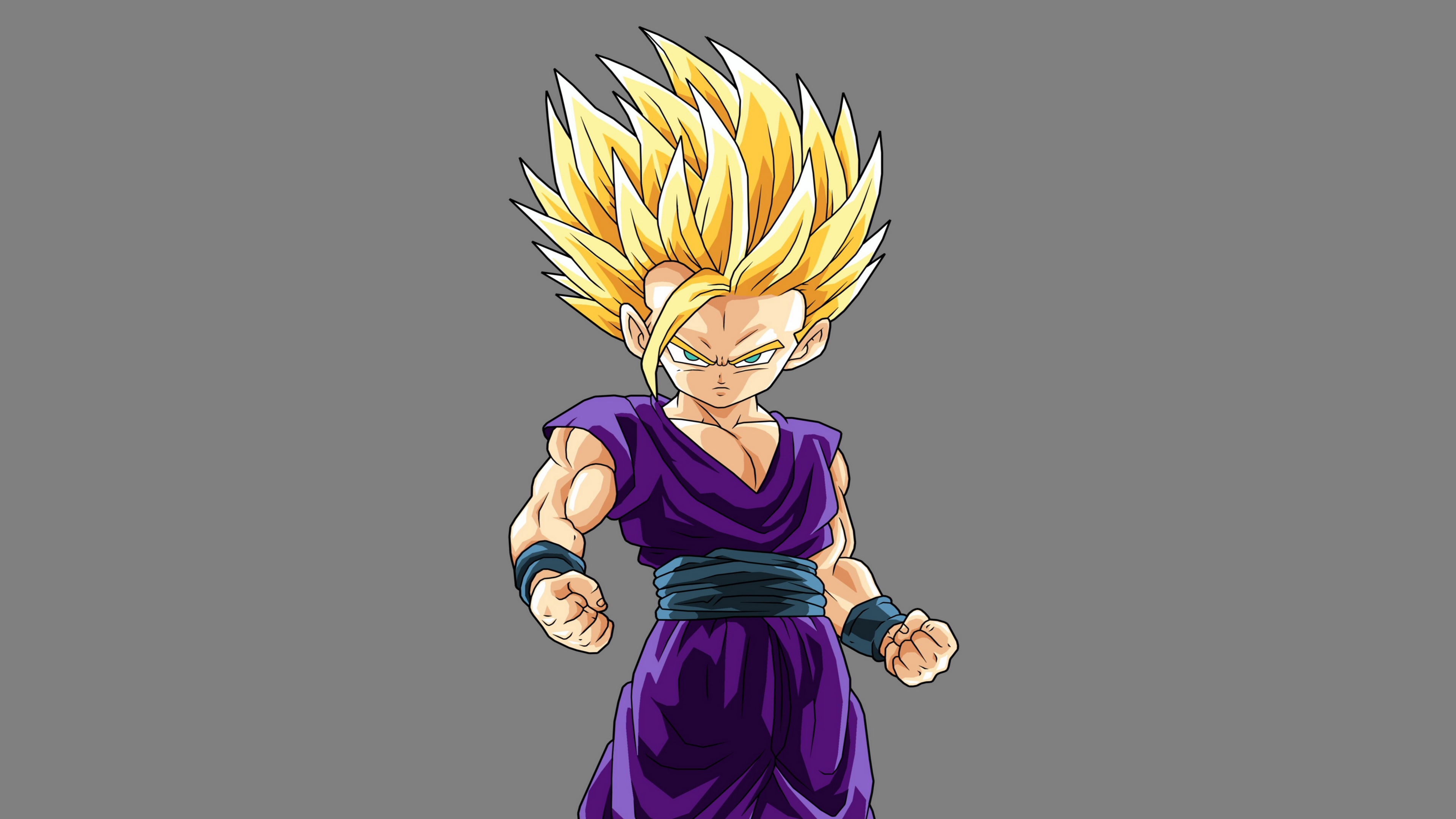 Wallpaper 4k Dragon Ball Z Gohan Art 4k Art Dragon Ball Z Gohan