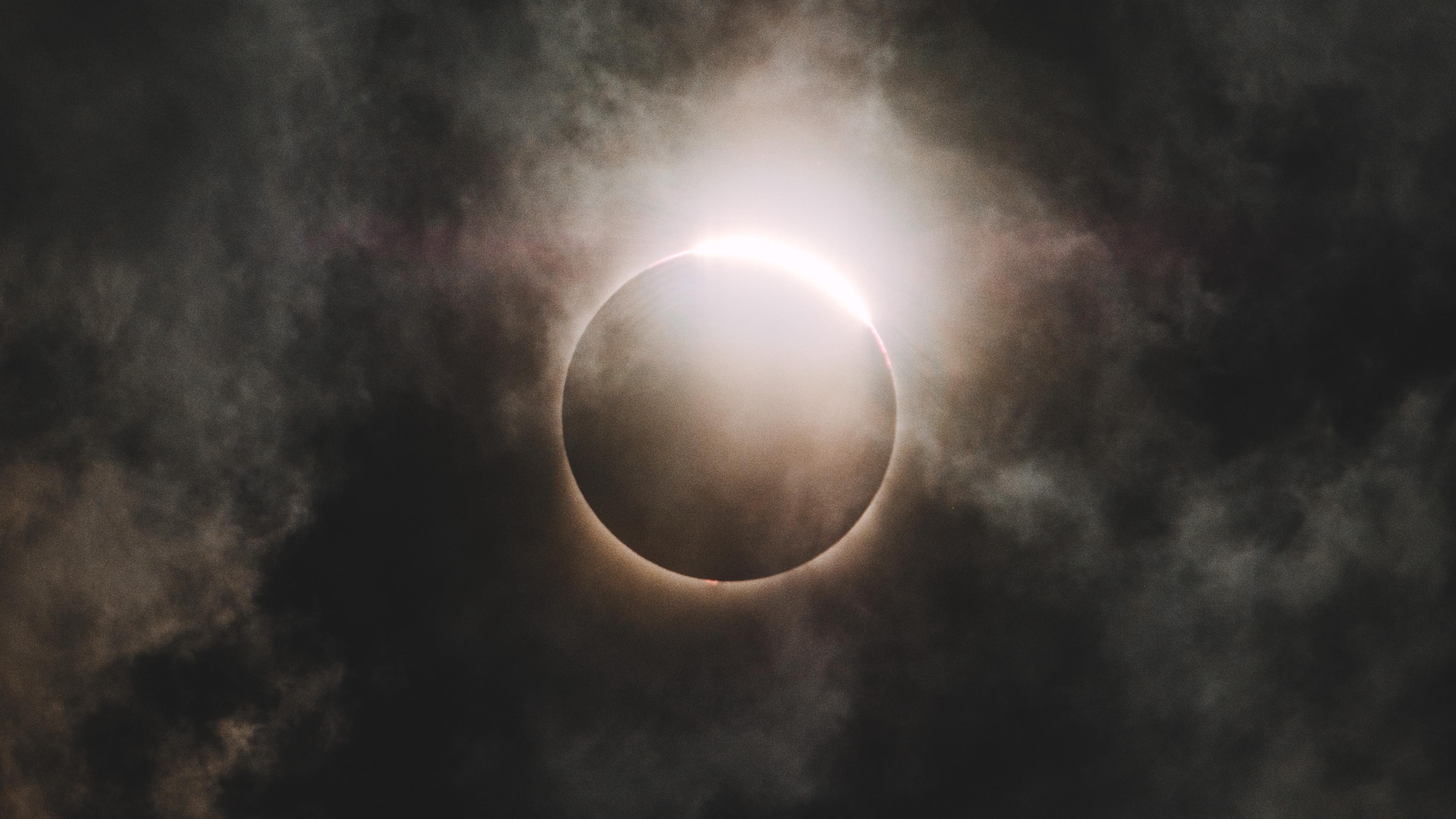 eclipse moon sun sky 4k 1541114109 - eclipse, moon, sun, sky 4k - Sun, Moon, Eclipse