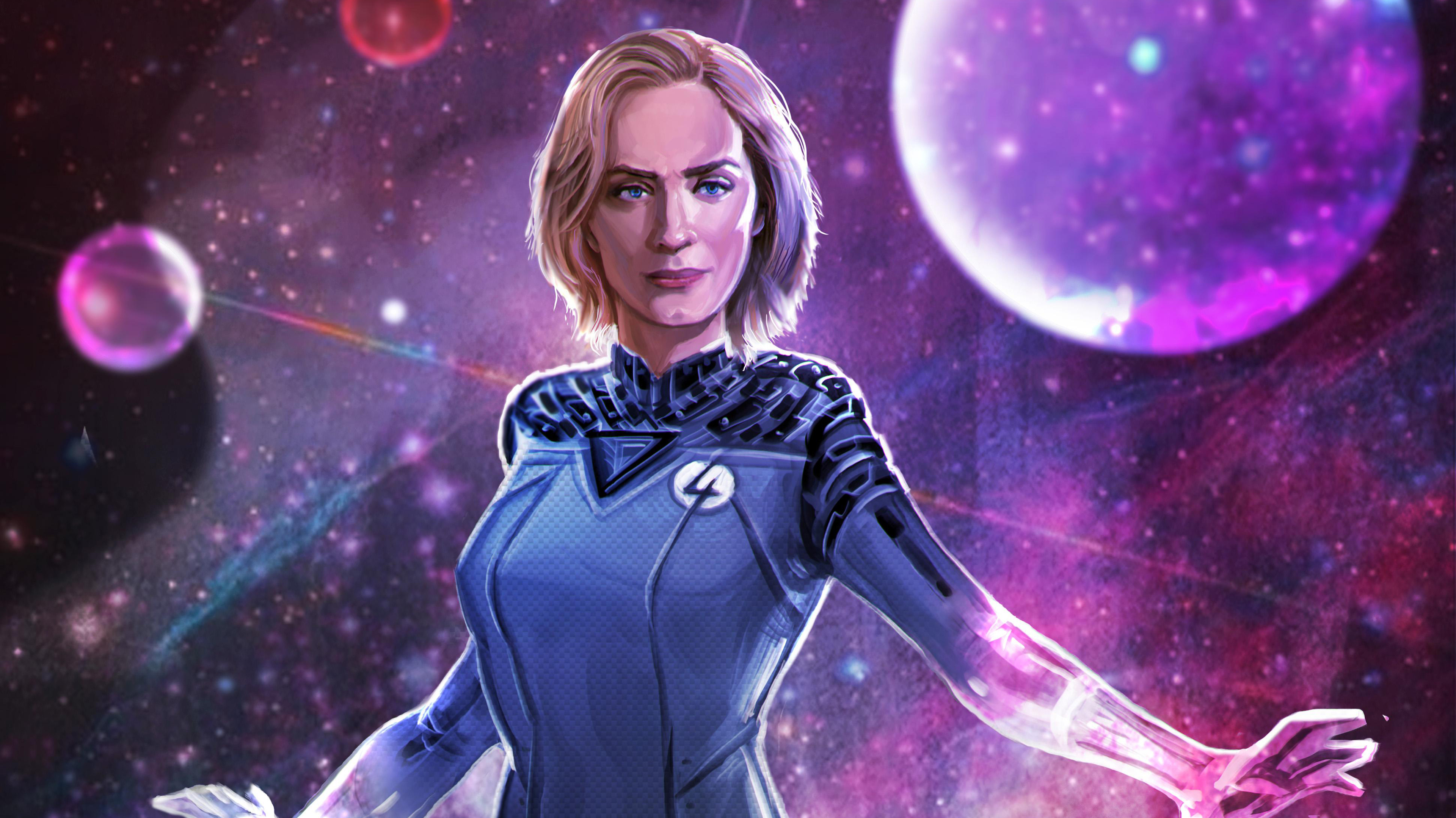 emily blunt as sue storm artwork 1543618666 - Emily Blunt As Sue Storm Artwork - superheroes wallpapers, reddit wallpapers, marvel wallpapers, hd-wallpapers, artwork wallpapers, artist wallpapers, 4k-wallpapers