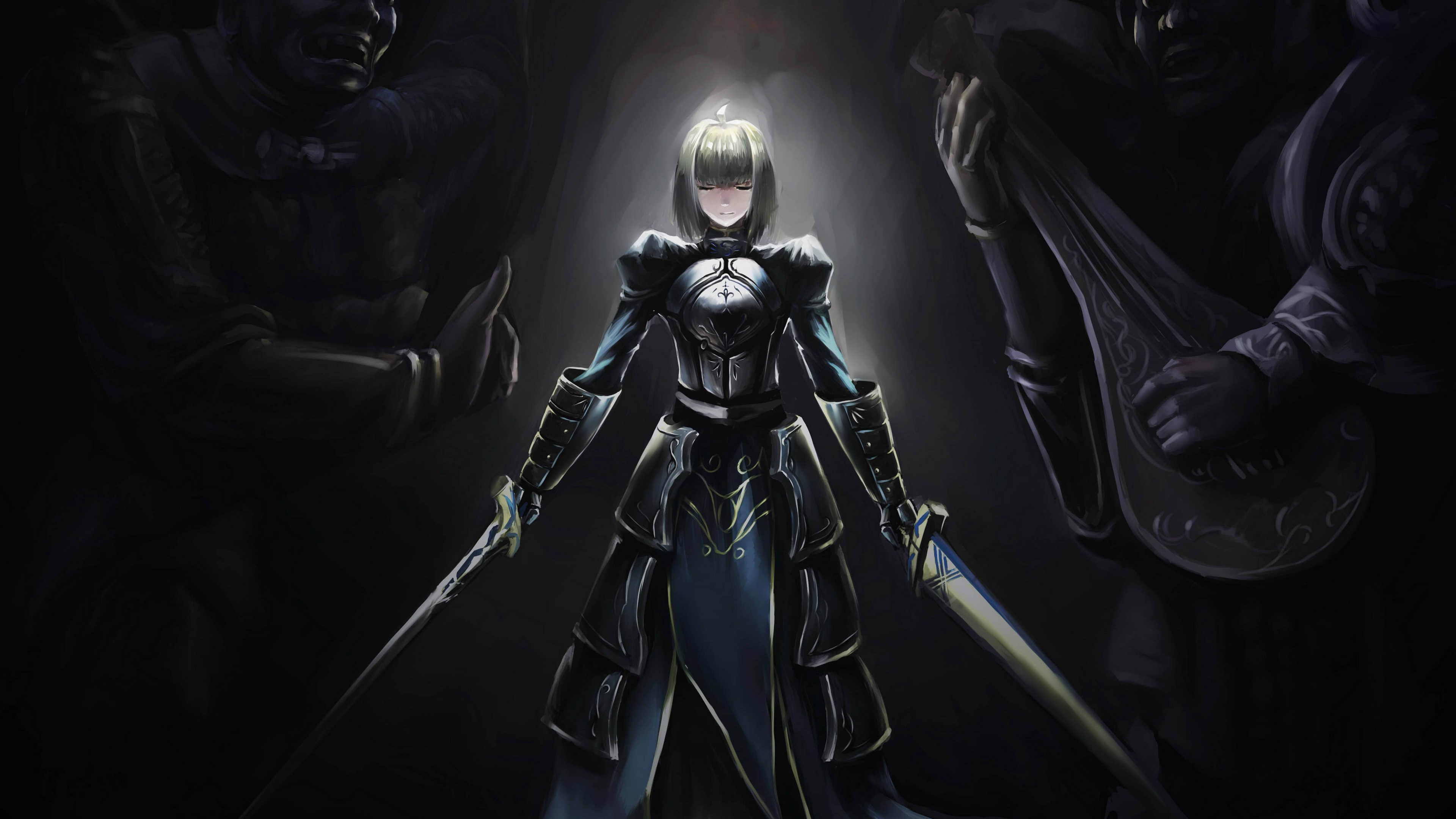 fate stay night saber girl art 4k 1541975828 - fate stay night, saber, girl, art 4k - Saber, Girl, fate stay night