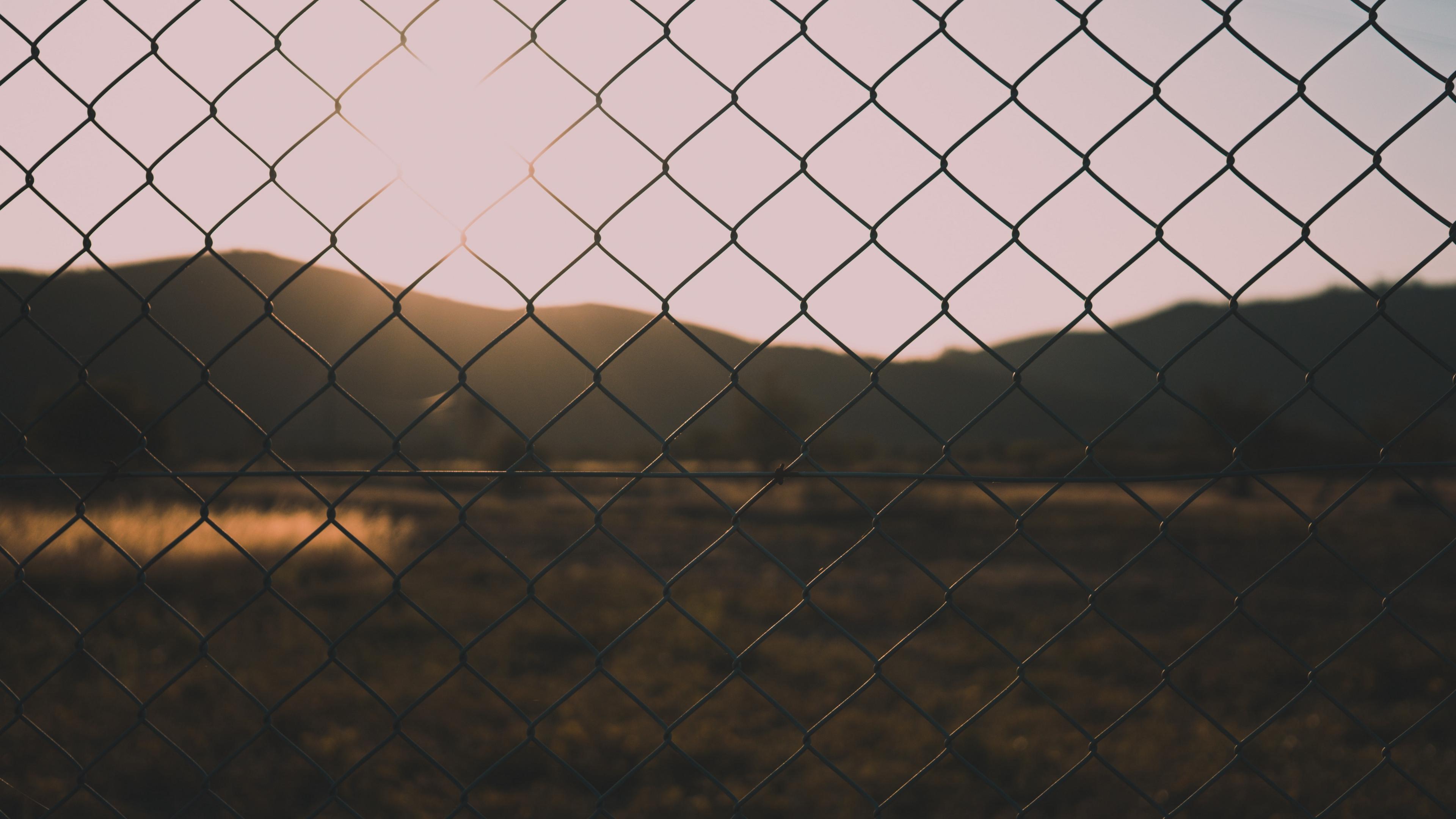 fence mesh blur nature 4k 1541117845 - fence, mesh, blur, nature 4k - mesh, fence, Blur