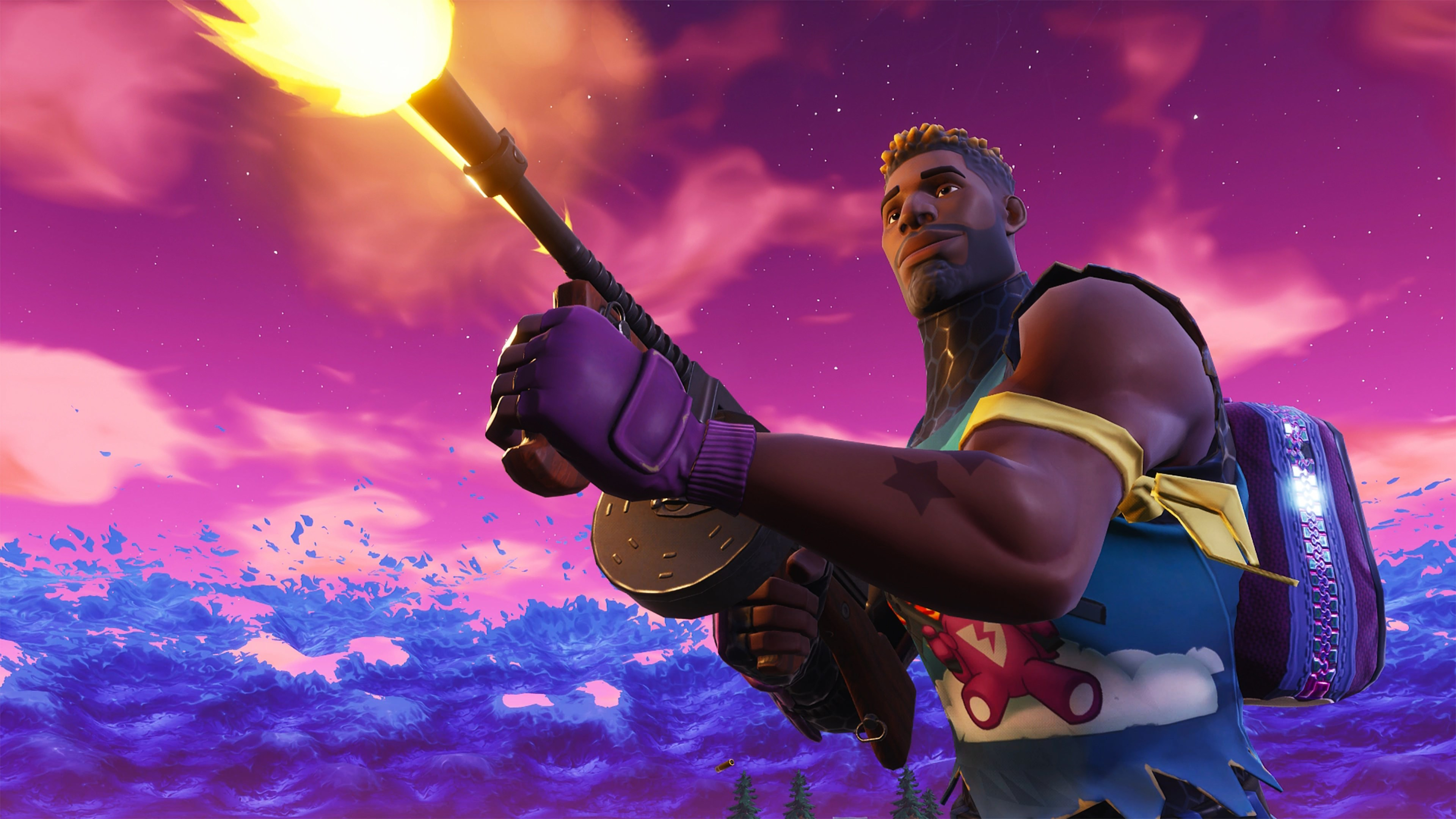 fortnite battle royale mobile 4k - fortnite wallpaper 4k season 9