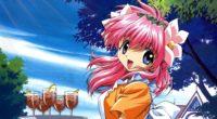 galaxy angel girl pink hair tray 4k 1541975562 200x110 - galaxy angel, girl, pink hair, tray 4k - pink hair, Girl, galaxy angel