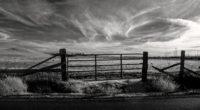 gate bw sky fence 4k 1541115417 200x110 - gate, bw, sky, fence 4k - Sky, Gate, bw