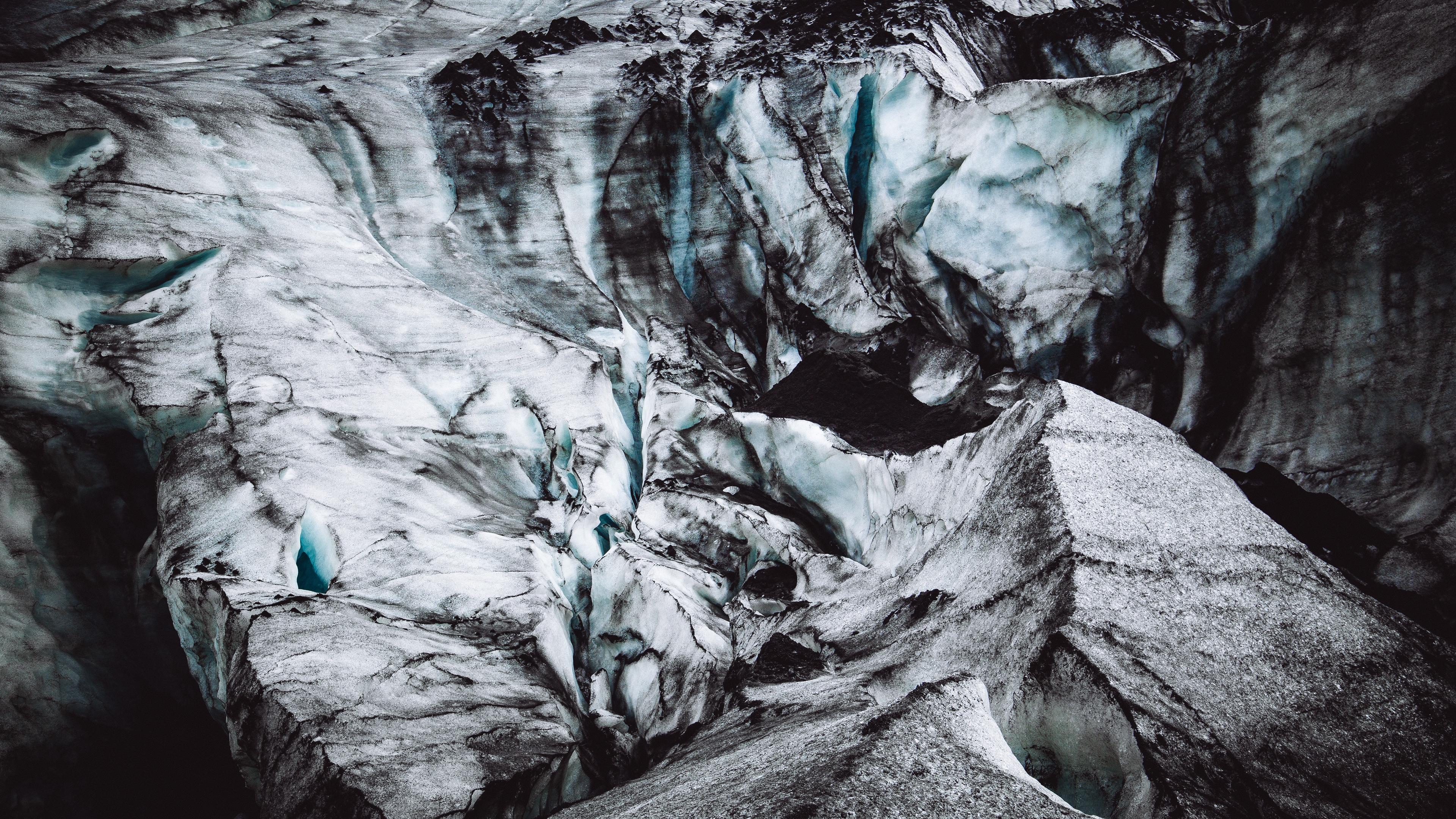 glacier cave surface iceland 4k 1541113533 - glacier, cave, surface, iceland 4k - Surface, Glacier, Cave