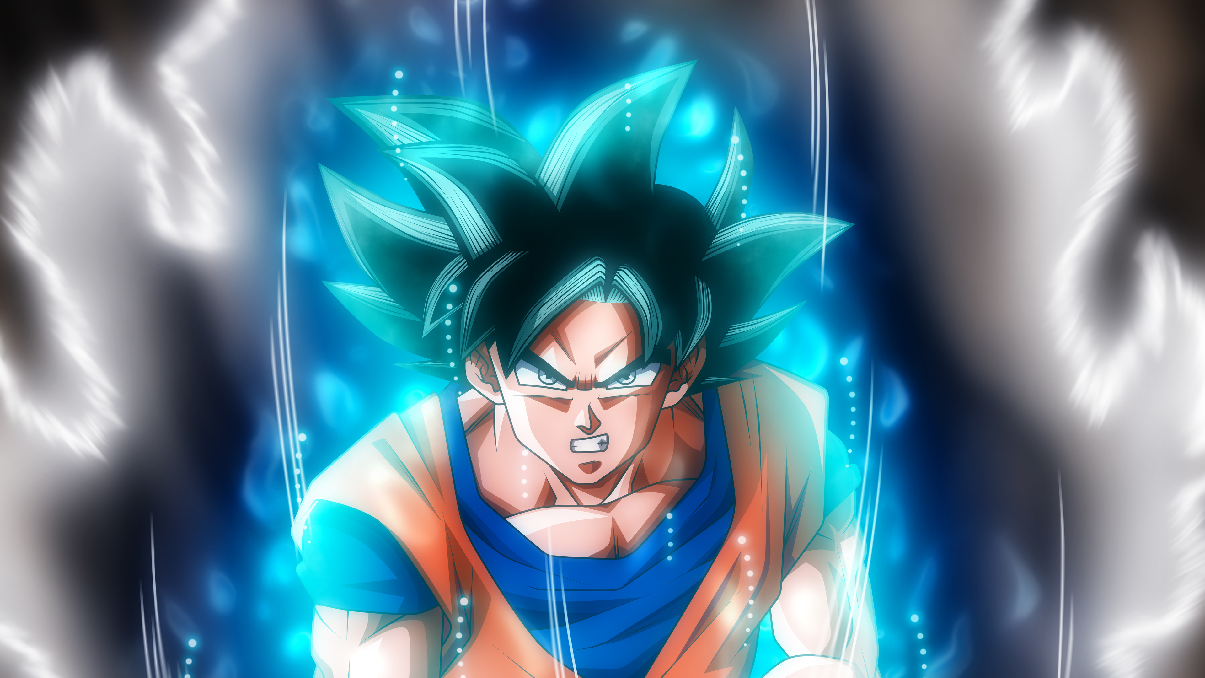 Wallpaper 4k Goku Ultra Instinct Dragon Ball 4k 4k Wallpapers