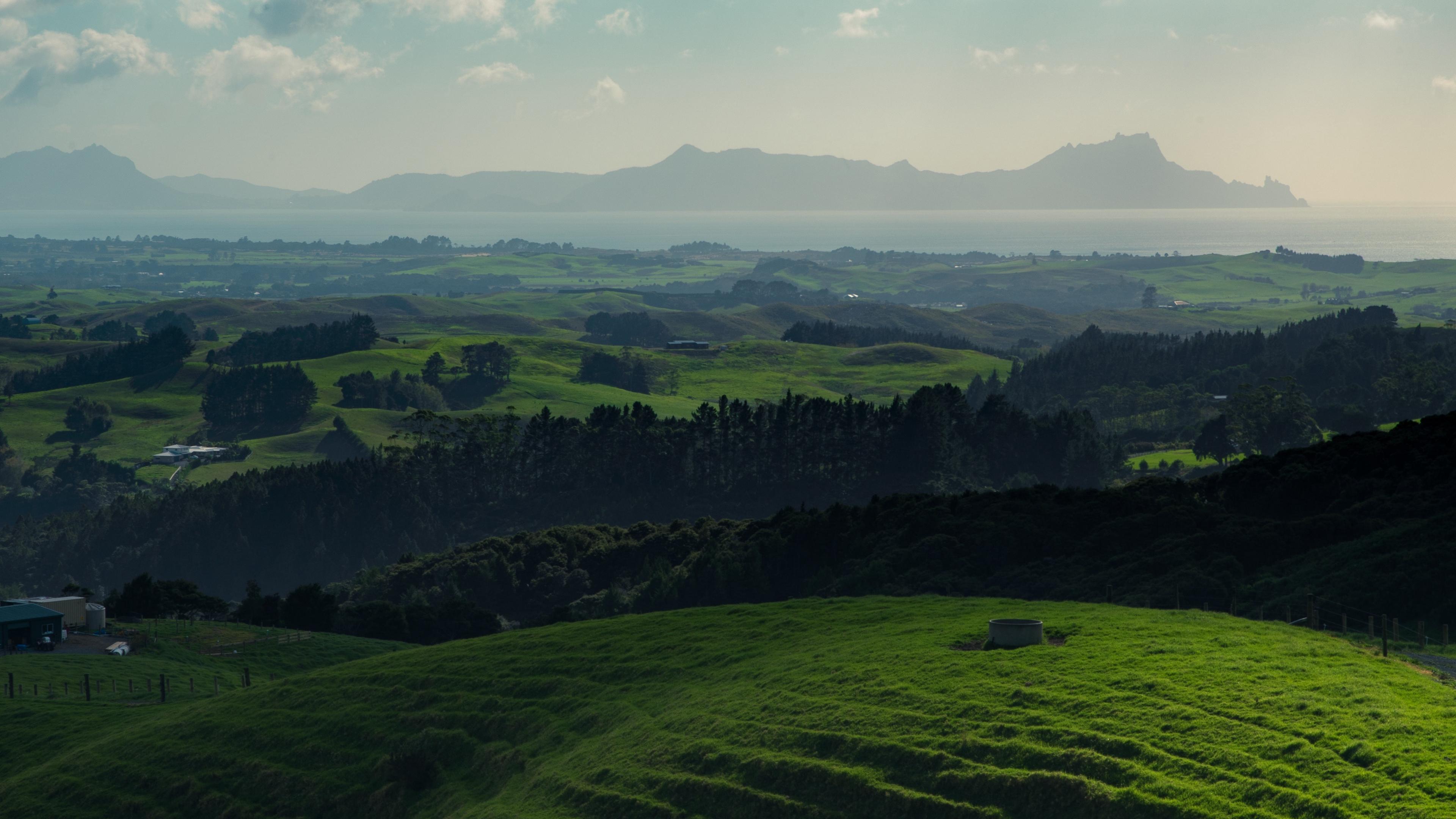 hills grass mountains horizon whangarei new zealand 4k 1541115165 - hills, grass, mountains, horizon, whangarei, new zealand 4k - Mountains, Hills, Grass