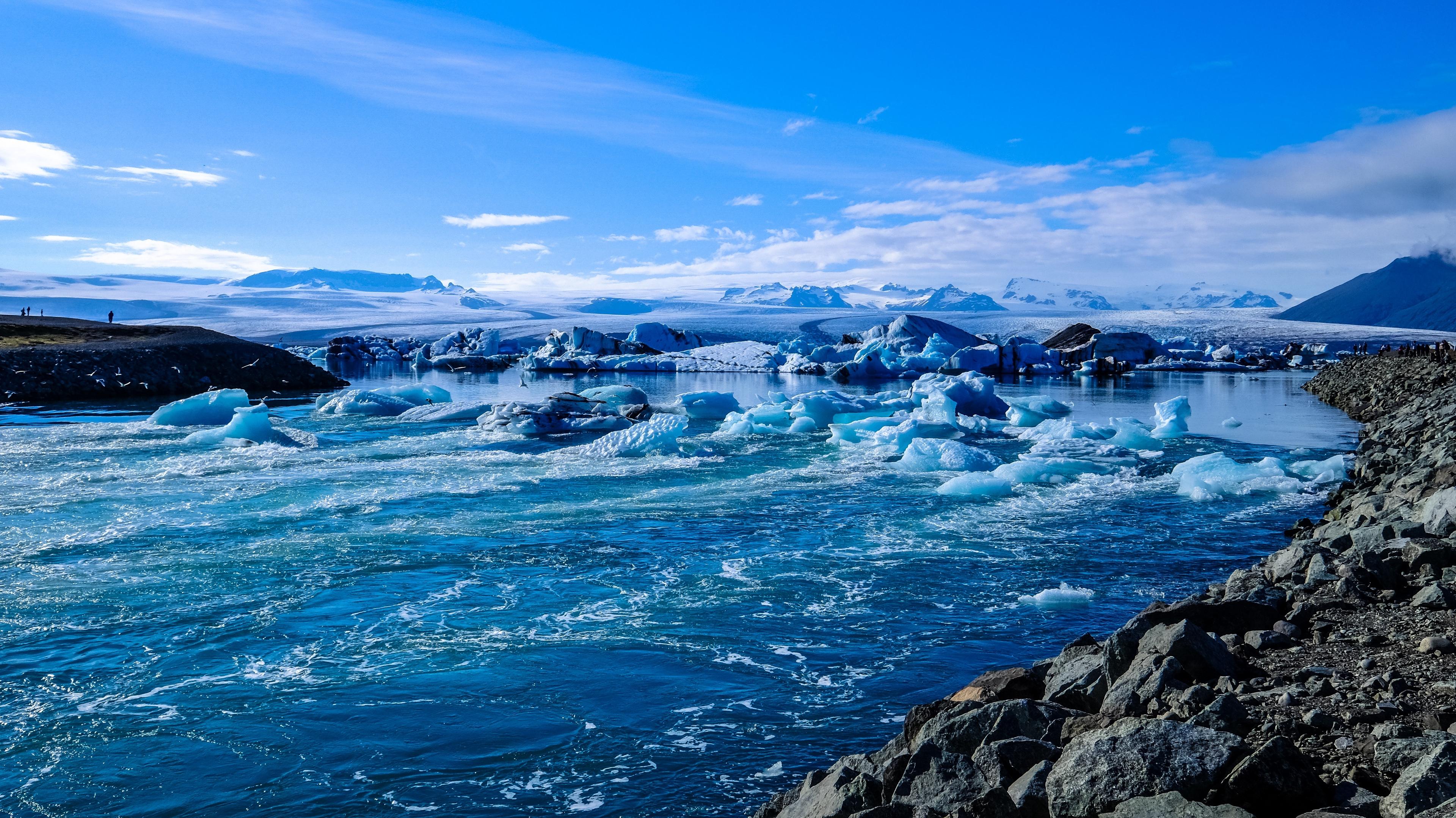 iceland ice ocean shore 4k 1541117790 - iceland, ice, ocean, shore 4k - Ocean, Iceland, Ice