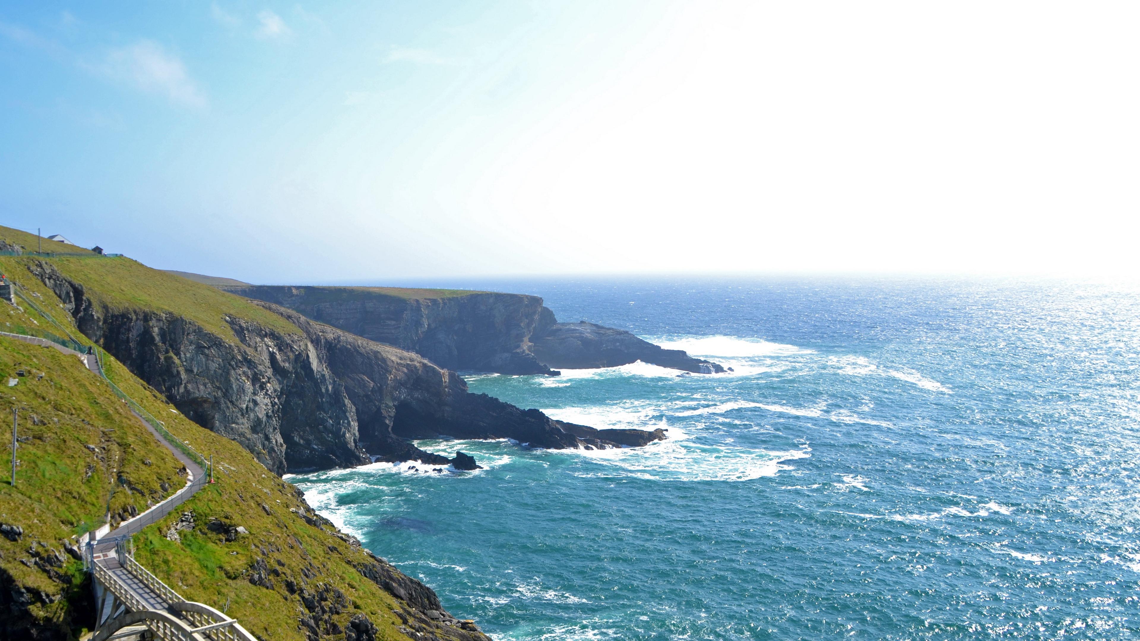 ireland beach coast 4k 1541117802 - ireland, beach, coast 4k - Ireland, Coast, Beach
