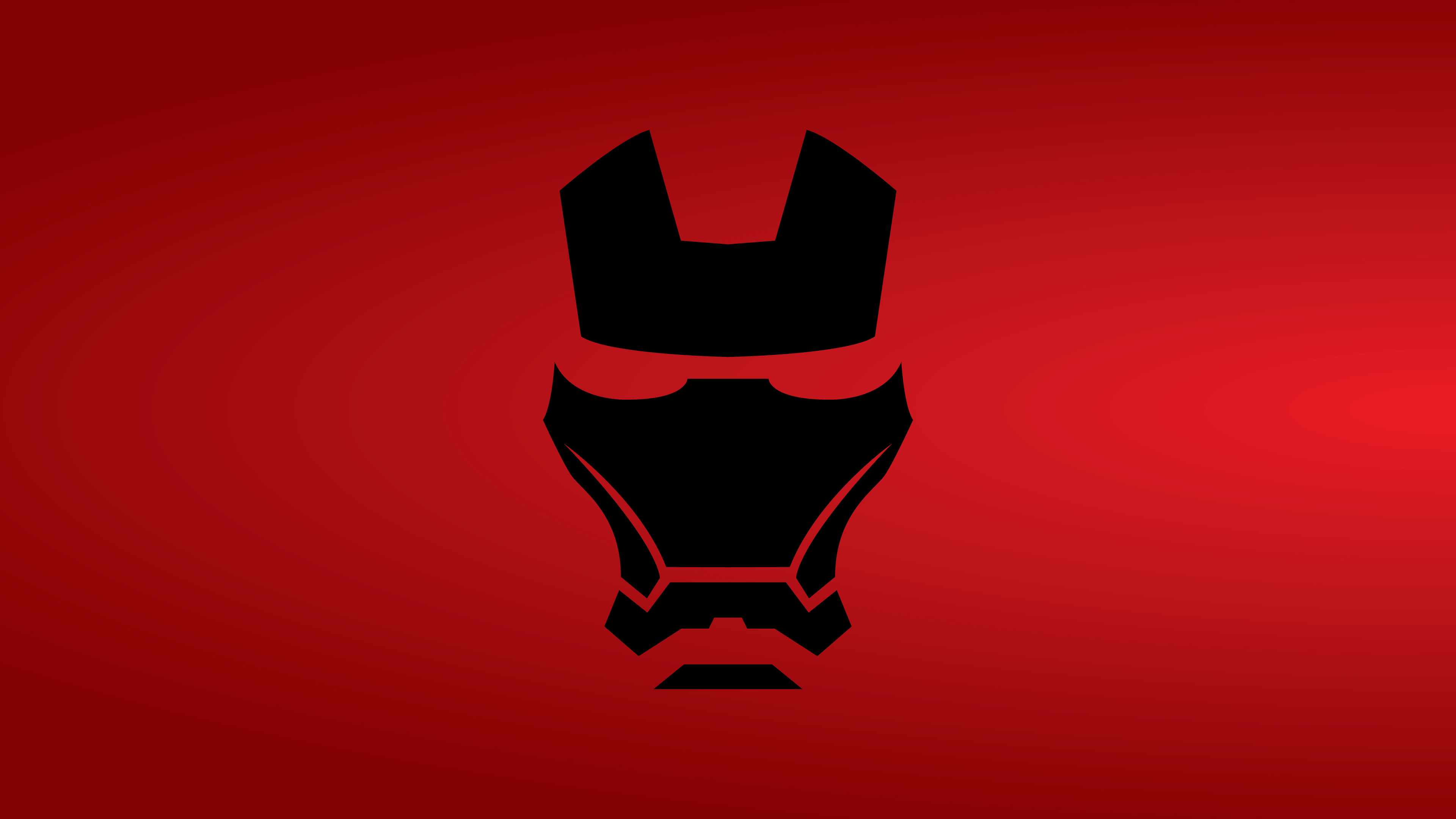 Wallpaper 4k Iron Man Mask Minimalist 8k 4k Wallpapers 5k