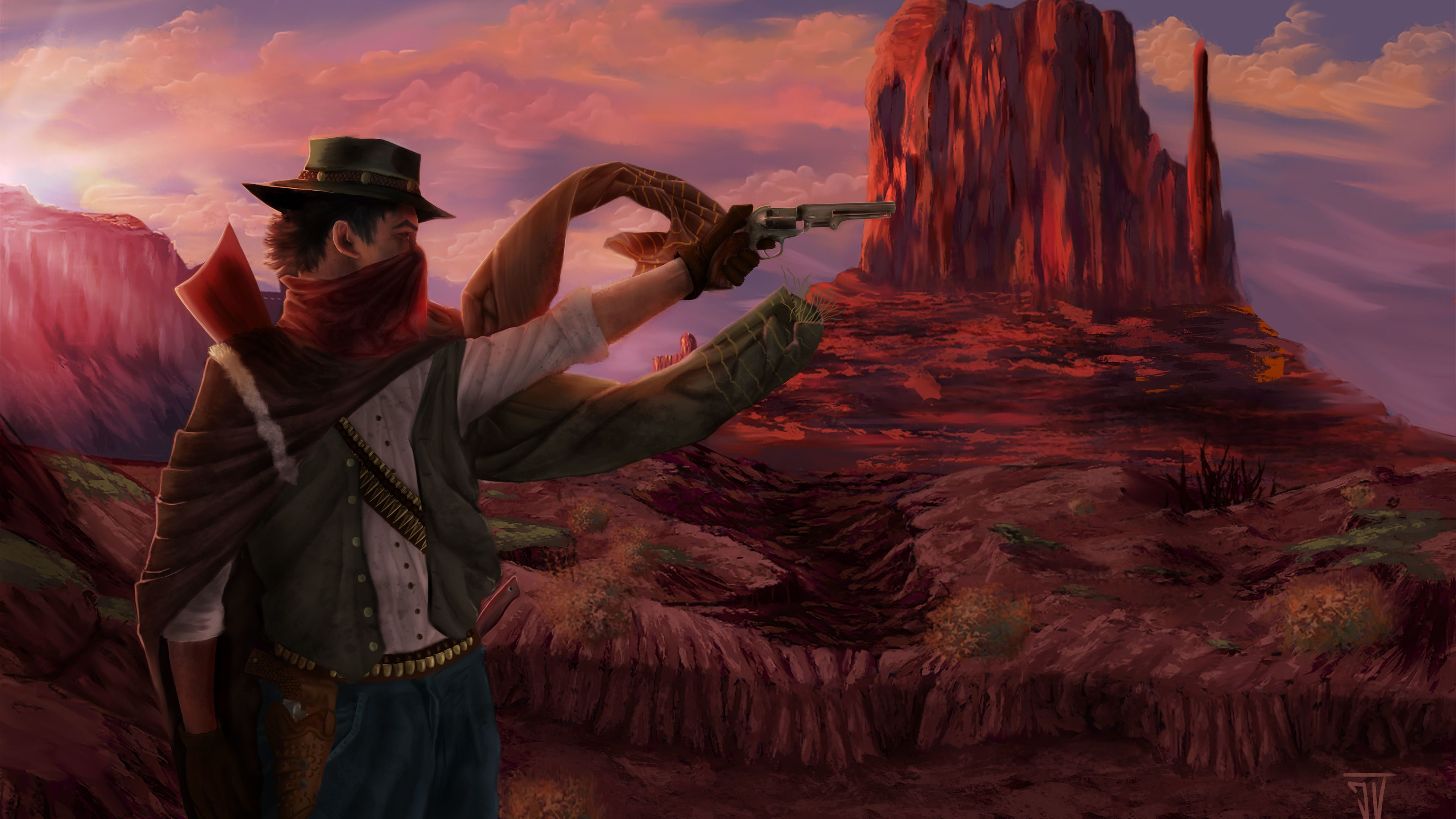 Wallpaper 4k John Marston Red Dead Redemption 2 2018 Games