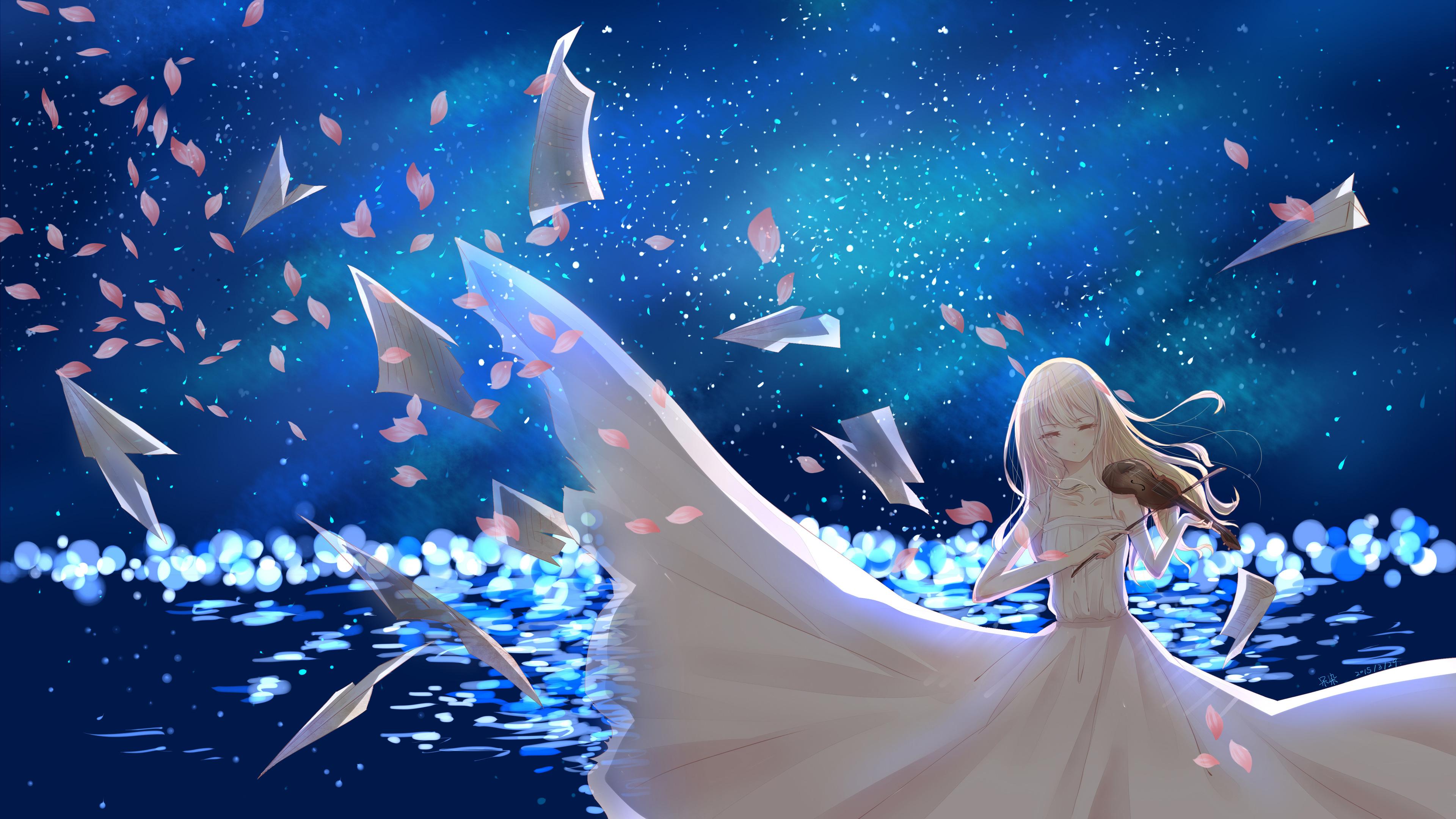 kaori miyazono your lie in april 4k 1541974153 - Kaori Miyazono Your Lie In April 4k - your lie in april wallpapers, hd-wallpapers, digital art wallpapers, artwork wallpapers, artist wallpapers, anime wallpapers, anime girl wallpapers, 4k-wallpapers