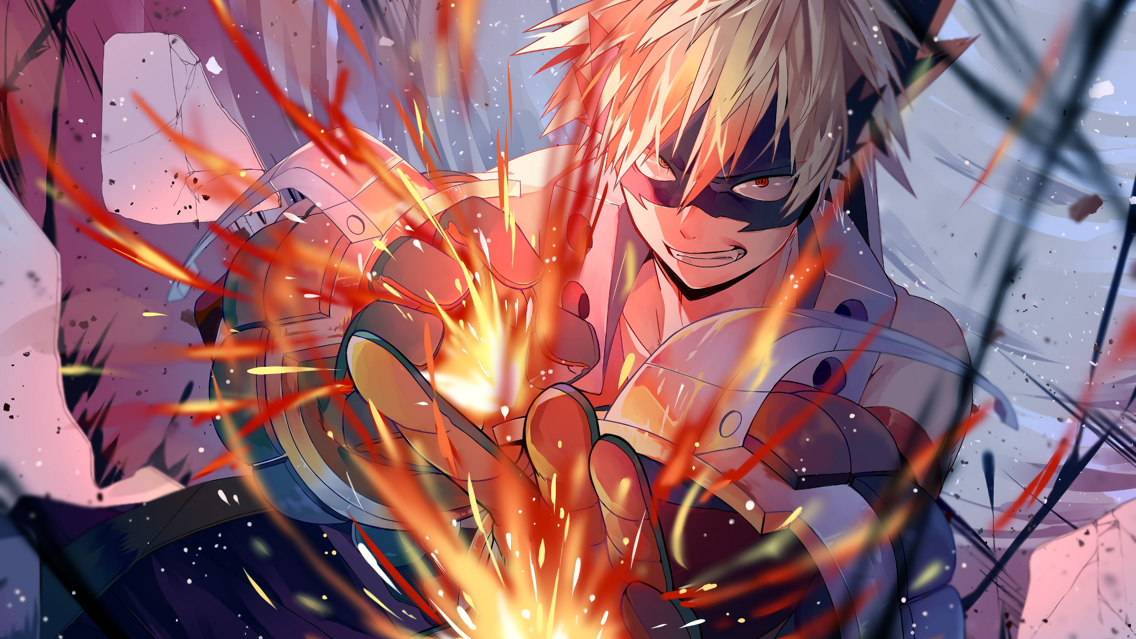 Wallpaper 4k Katsuki Bakugou My Hero Academic 4k 4k Wallpapers