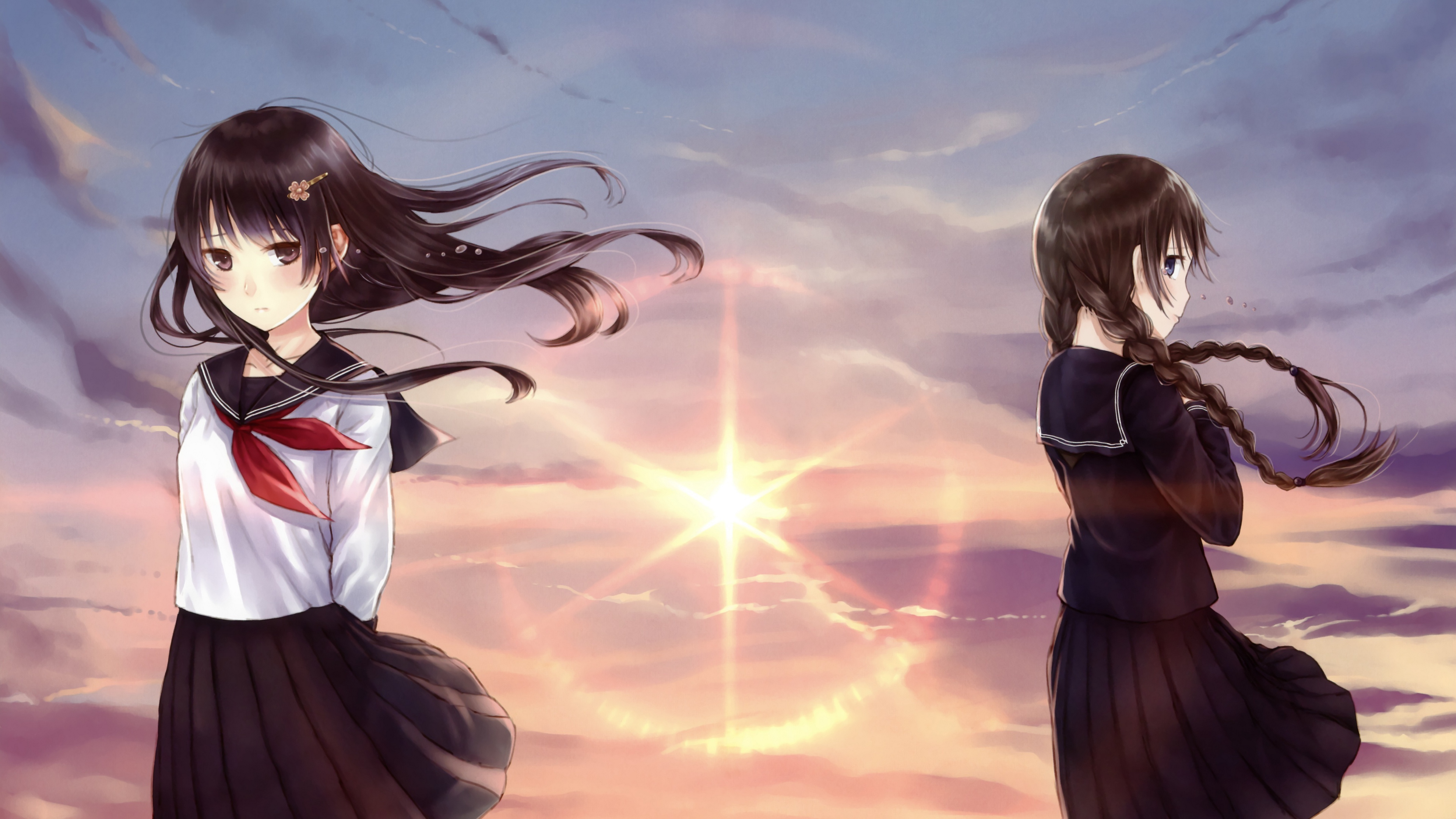 kazuharu kina girl schoolgirl art 4k 1541975681 - kazuharu kina, girl, schoolgirl, art 4k - schoolgirl, kazuharu kina, Girl