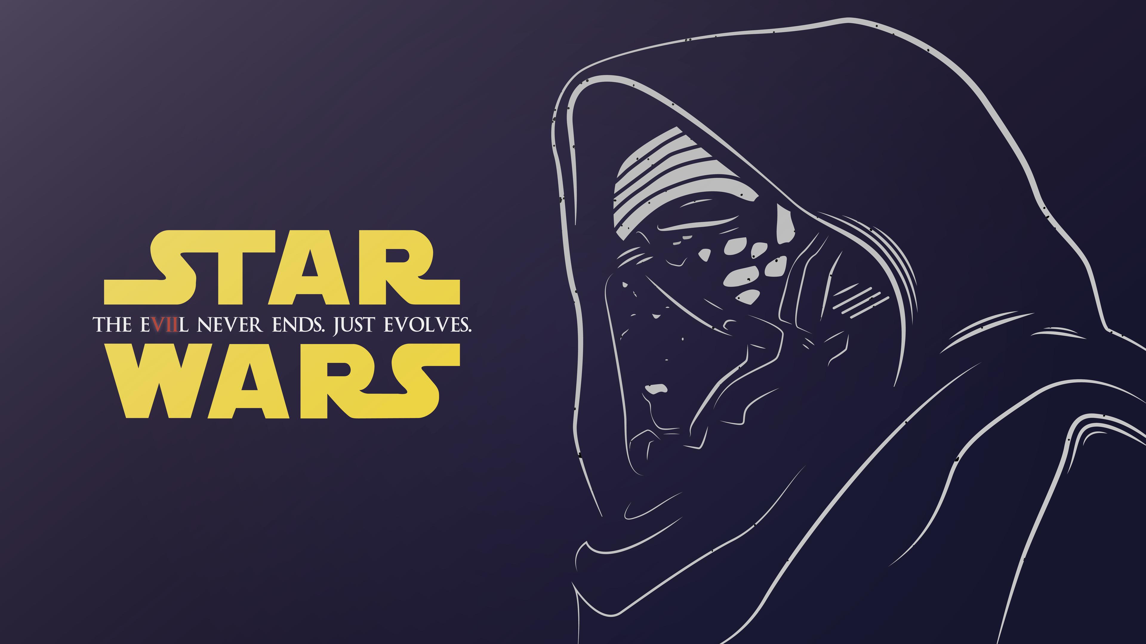 Wallpaper 4k Kylo Ren Star Wars Illustration 4k Wallpapers