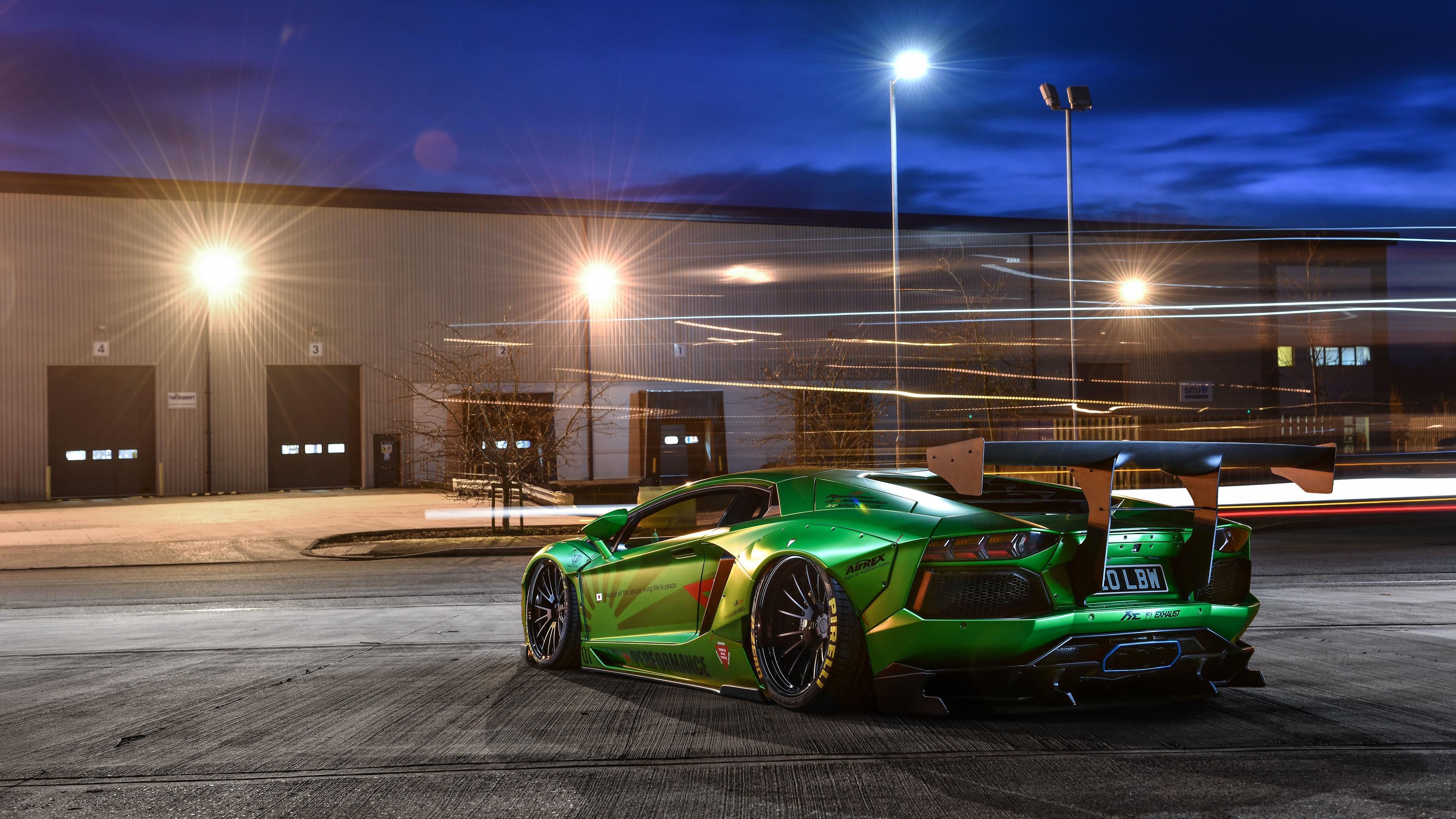 Lamborghini Aventador LP700 4k Rear lamborghini wallpapers ...