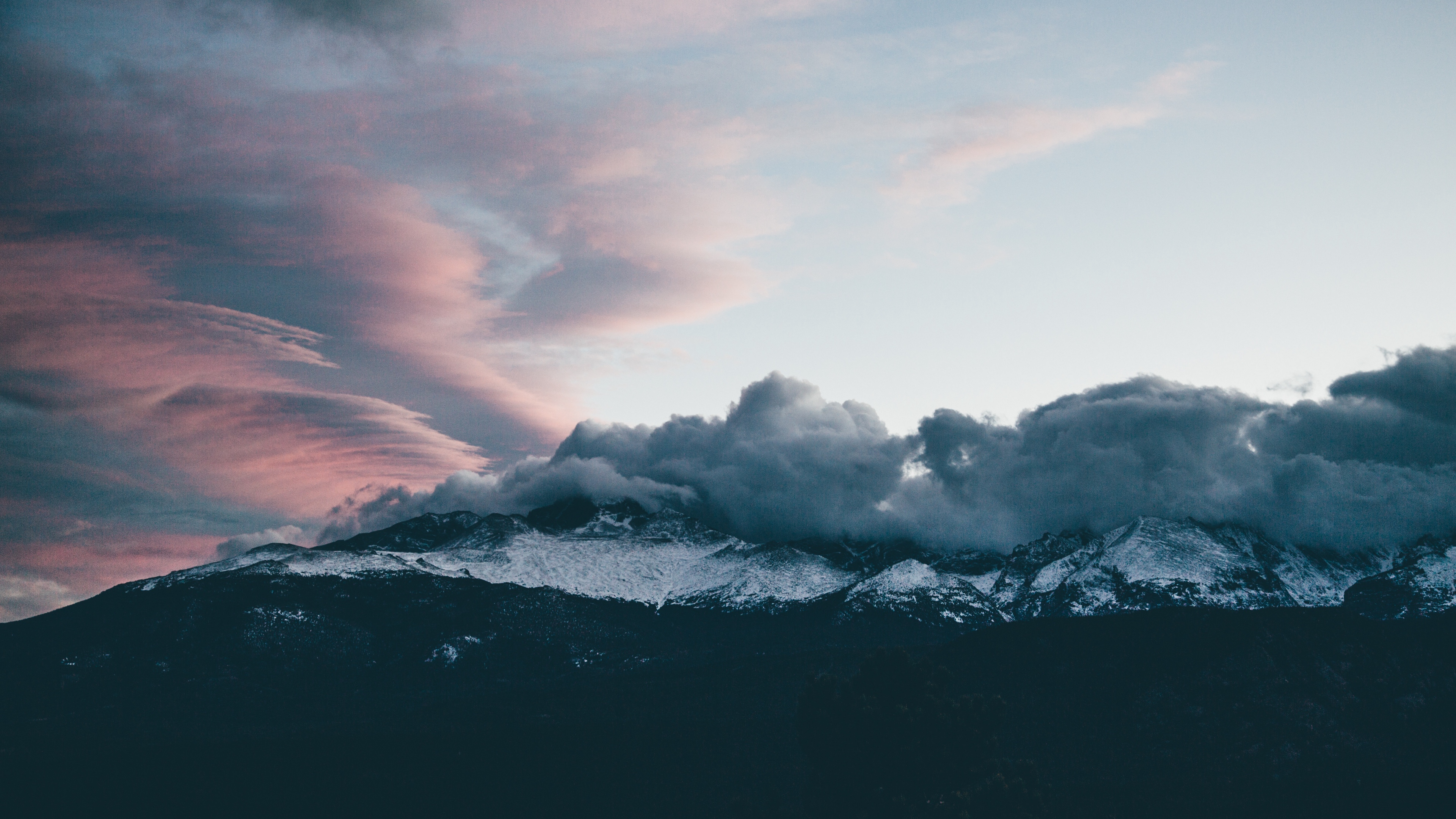 mountains clouds peaks sky 4k 1541117785 - mountains, clouds, peaks, sky 4k - Peaks, Mountains, Clouds