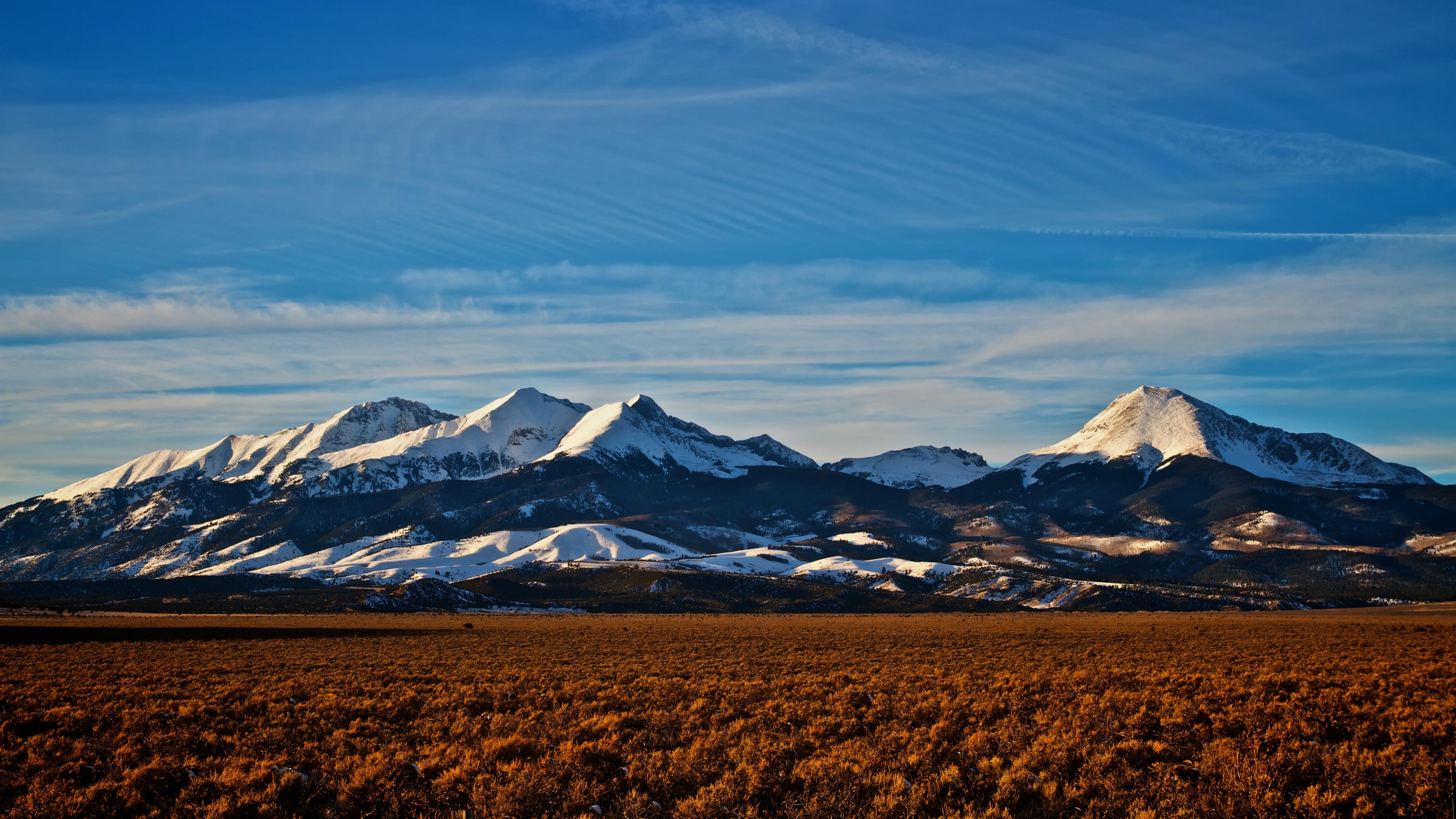 mountains colorado peaks snowy horizon sky 4k 1541113721 - mountains, colorado, peaks, snowy, horizon, sky 4k - Peaks, Mountains, Colorado