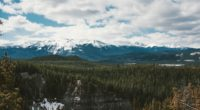 mountains trees distance snow clouds 4k 1541116470 200x110 - mountains, trees, distance, snow, clouds 4k - Trees, Mountains, distance