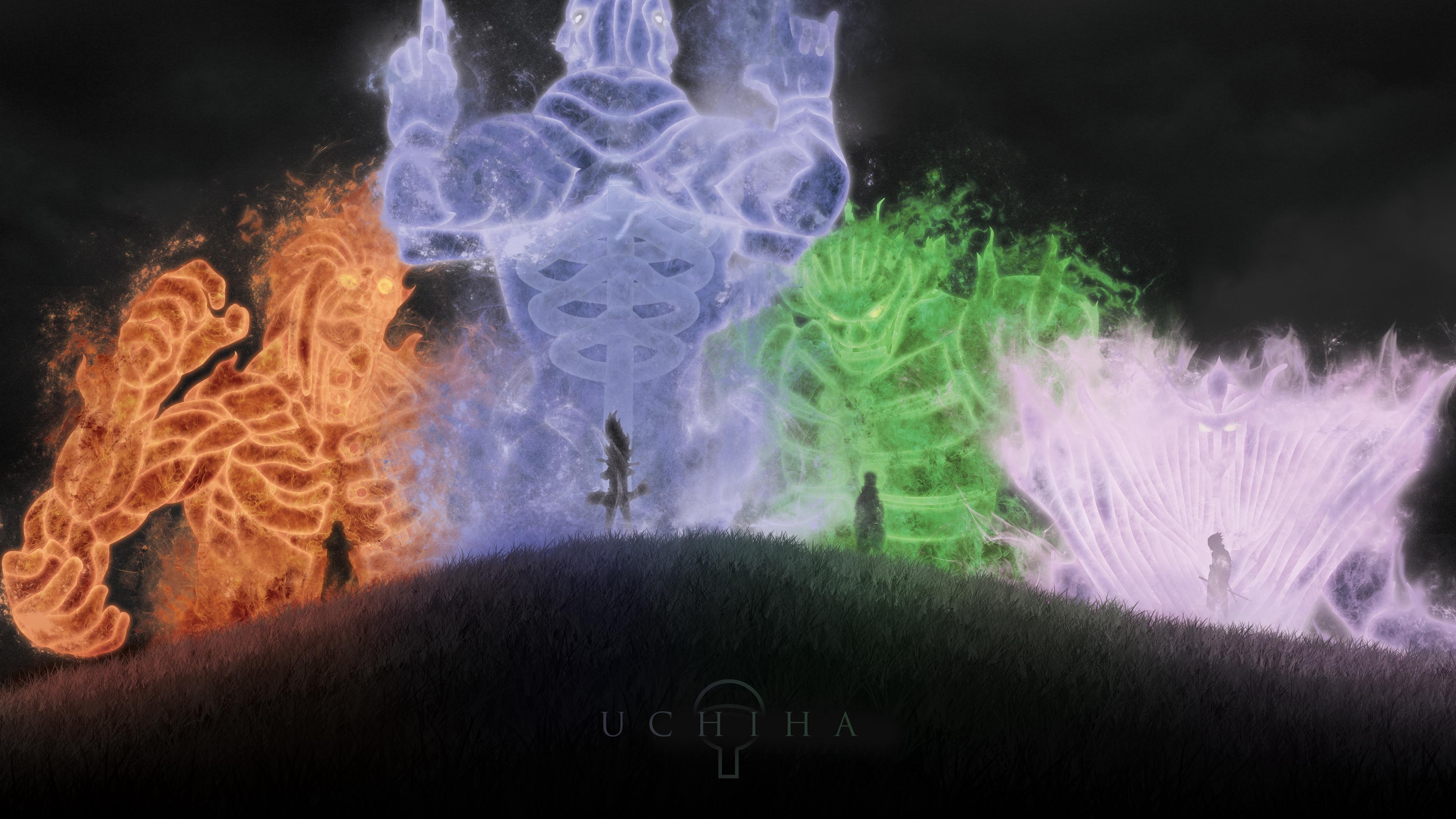 naruto uchiha art 4k 1541975822 - naruto, uchiha, art 4k - uchiha, Naruto, art