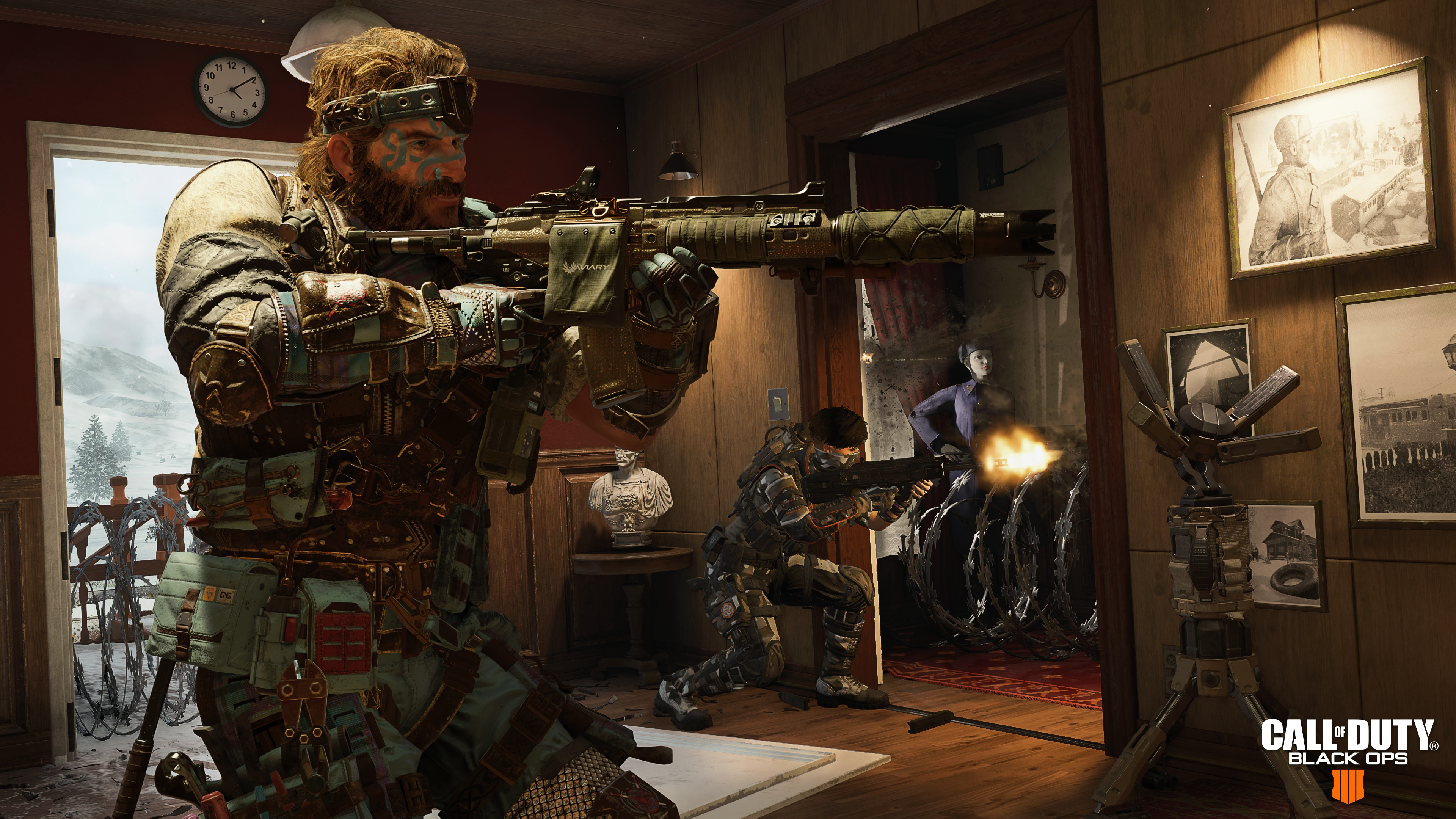 Wallpaper 4k Nuketown Call Of Duty Black Ops 4 2018 Games Wallpapers