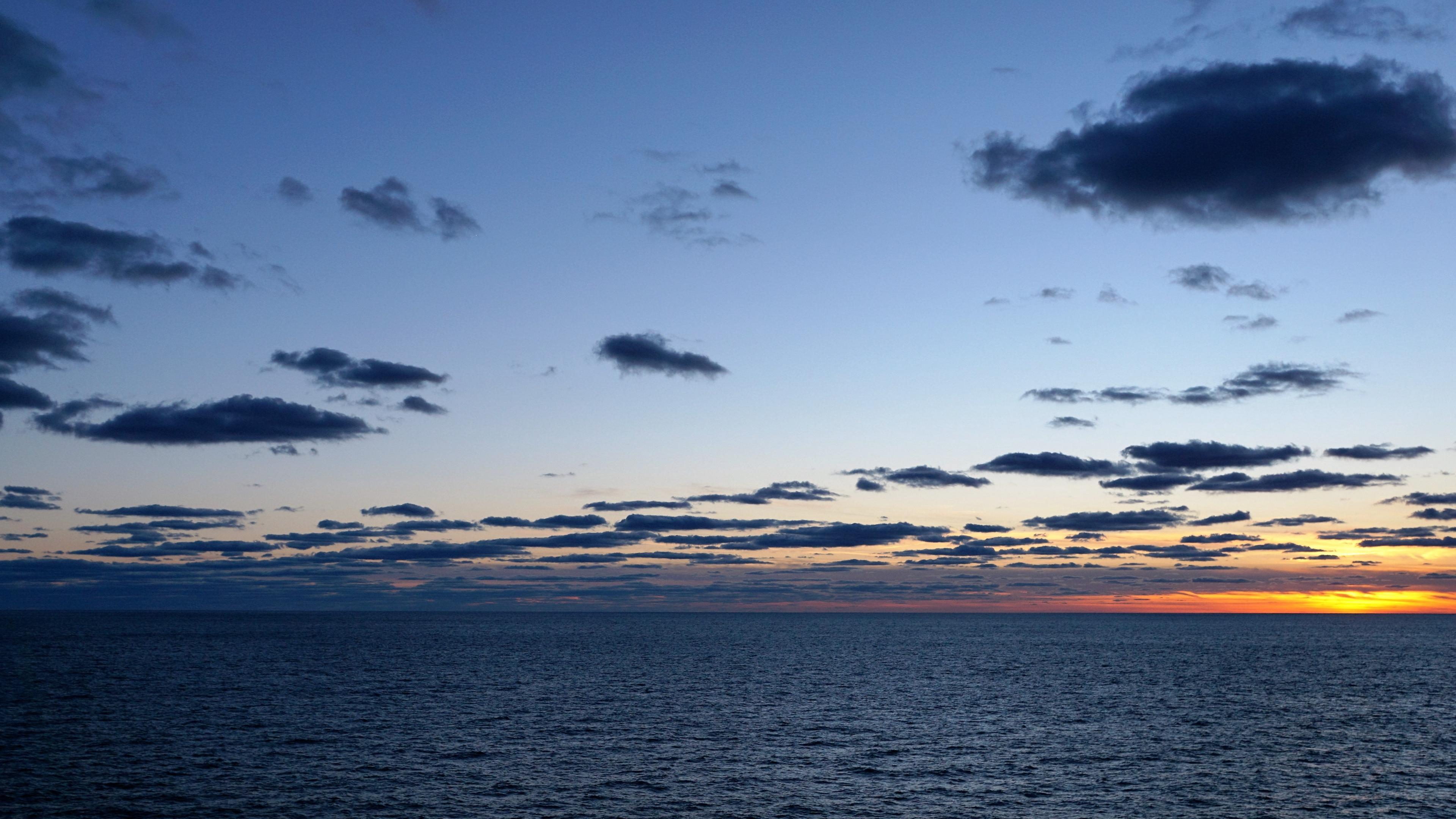 ocean atlantic horizon sunset 4k 1541114058 - ocean, atlantic, horizon, sunset 4k - Ocean, Horizon, Atlantic
