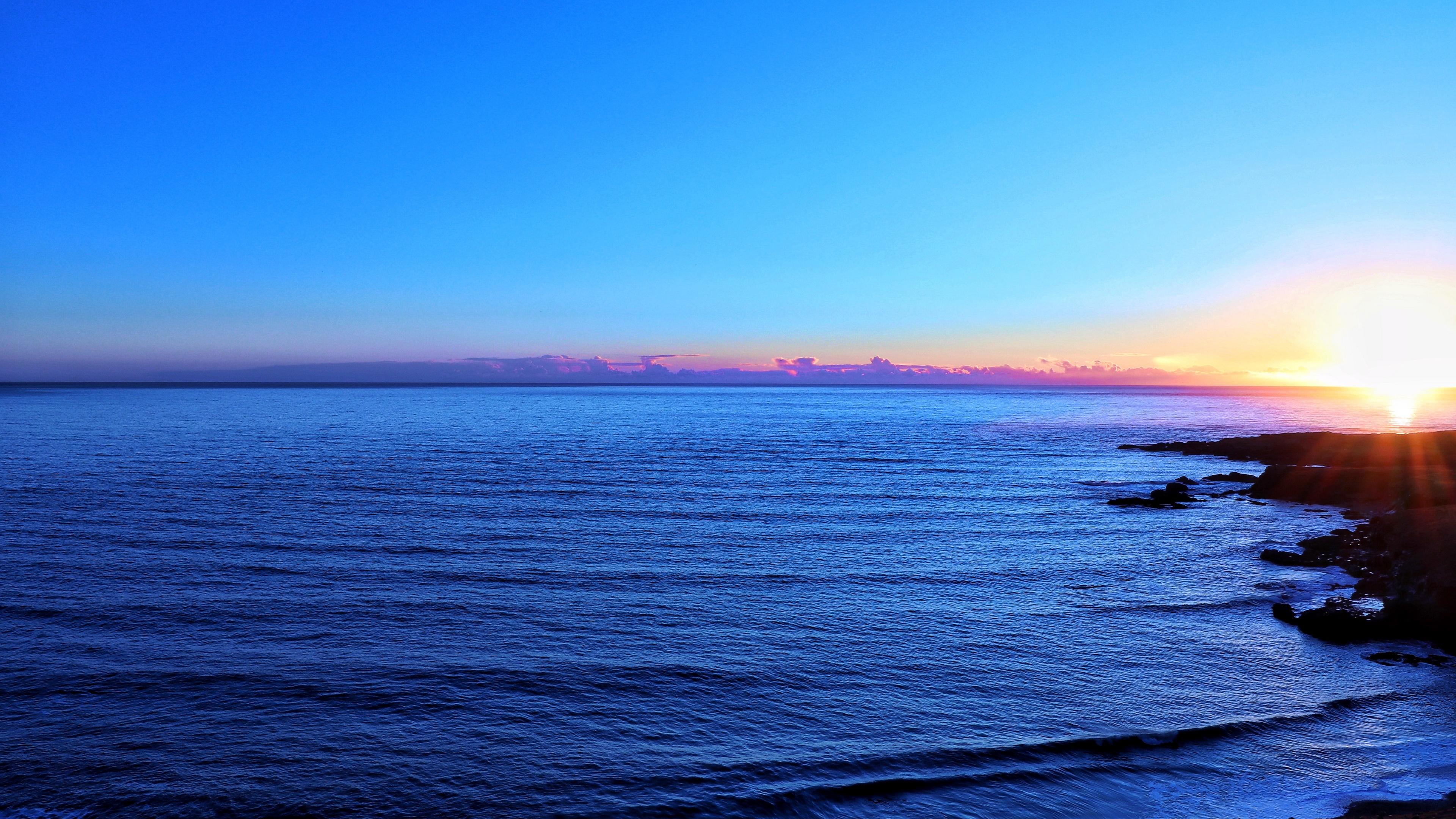 ocean skyline sky sunset 4k 1541117777 - ocean, skyline, sky, sunset 4k - Skyline, Sky, Ocean