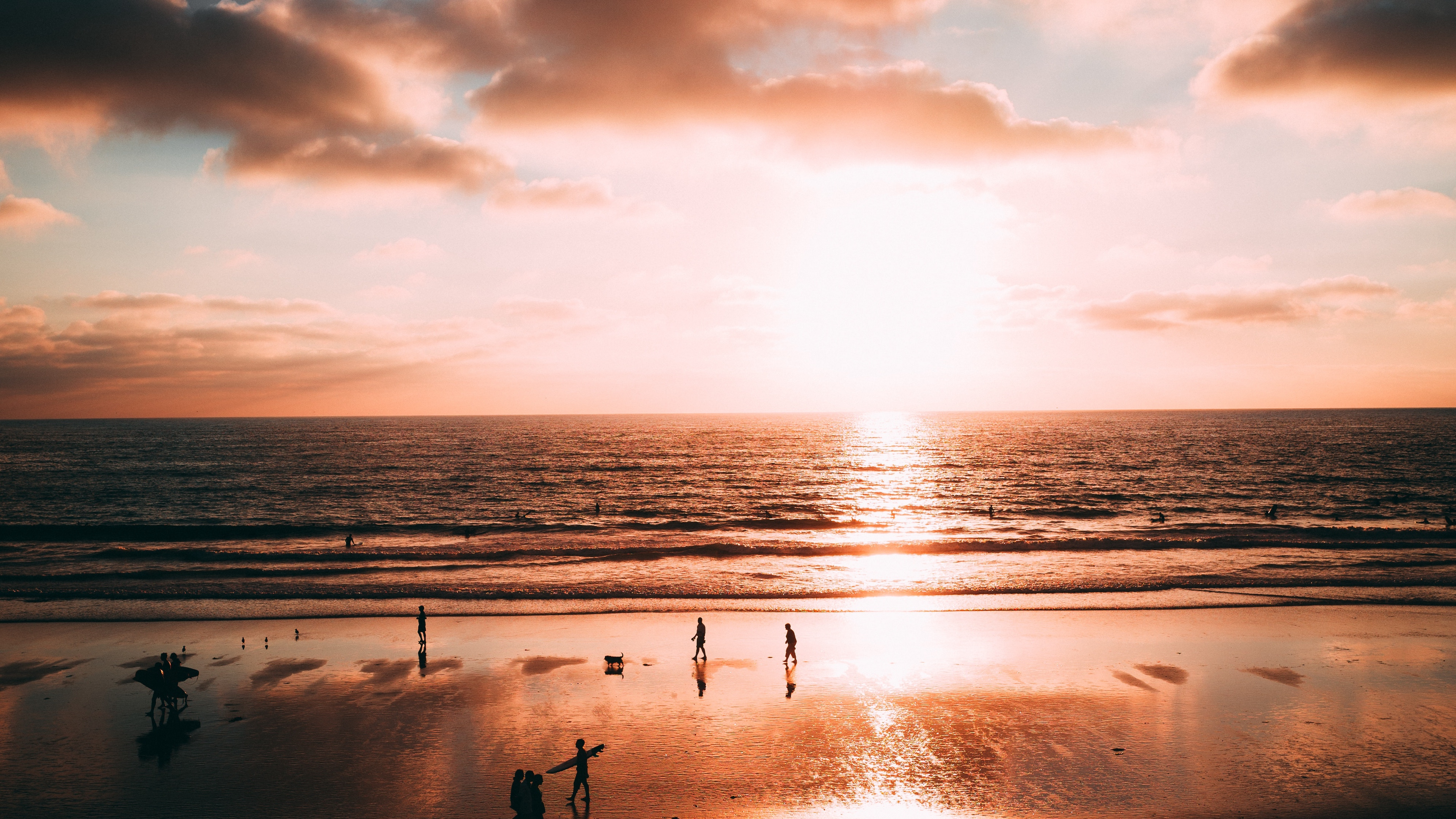ocean sunset shore la jolla san diego california united states 4k 1541117205 - ocean, sunset, shore, la jolla, san diego, california, united states 4k - sunset, Shore, Ocean