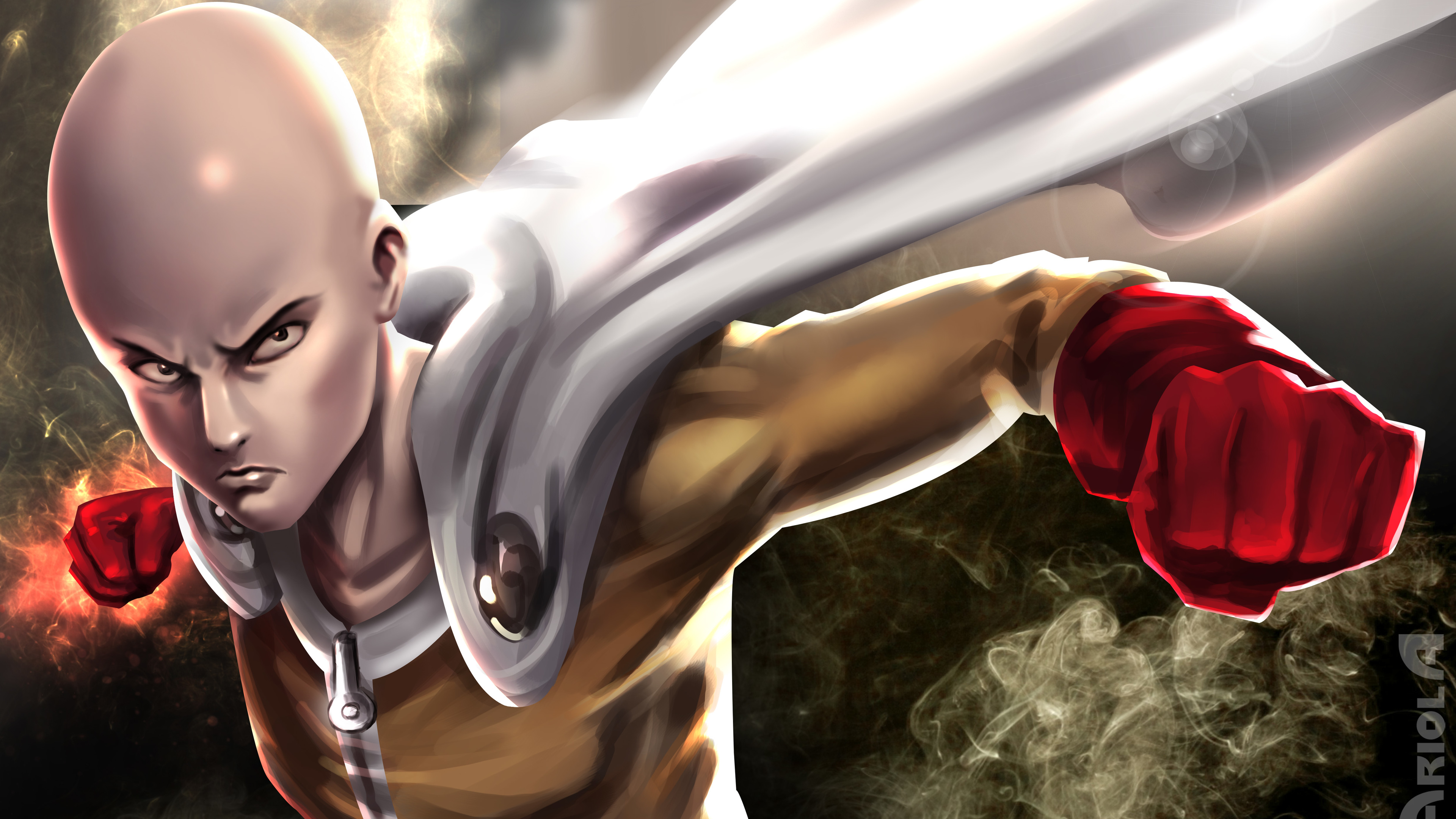 Wallpaper 4k One Punch Man 4k Art 4k Wallpapers Anime Wallpapers