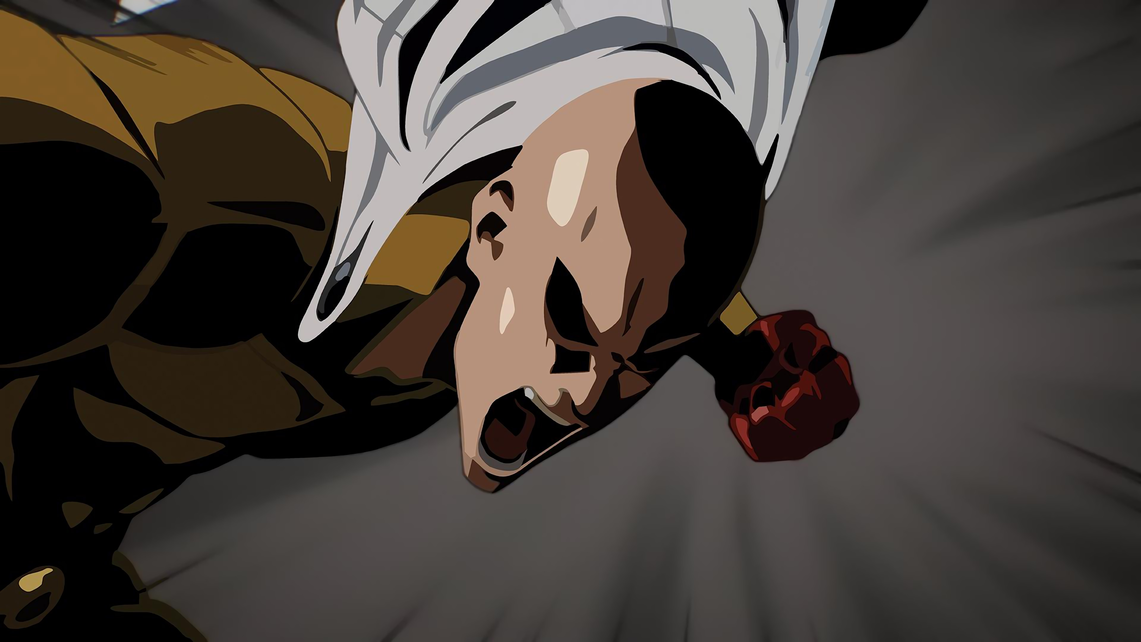 Wallpaper 4k One Punch Man Minimalism 4k 4k Wallpapers Anime