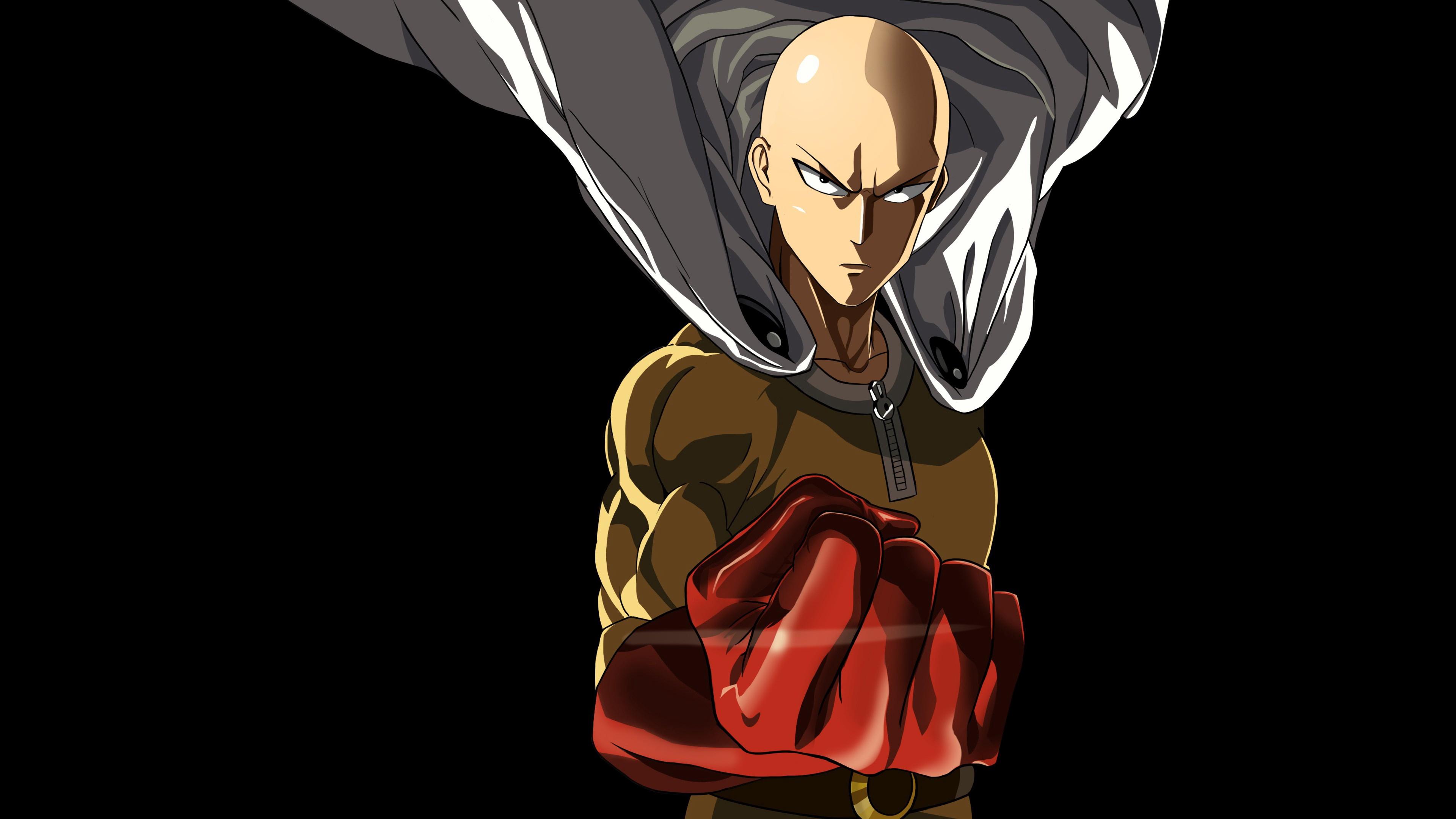 one punch man, saitama, character 4k Saitama, one punch ...