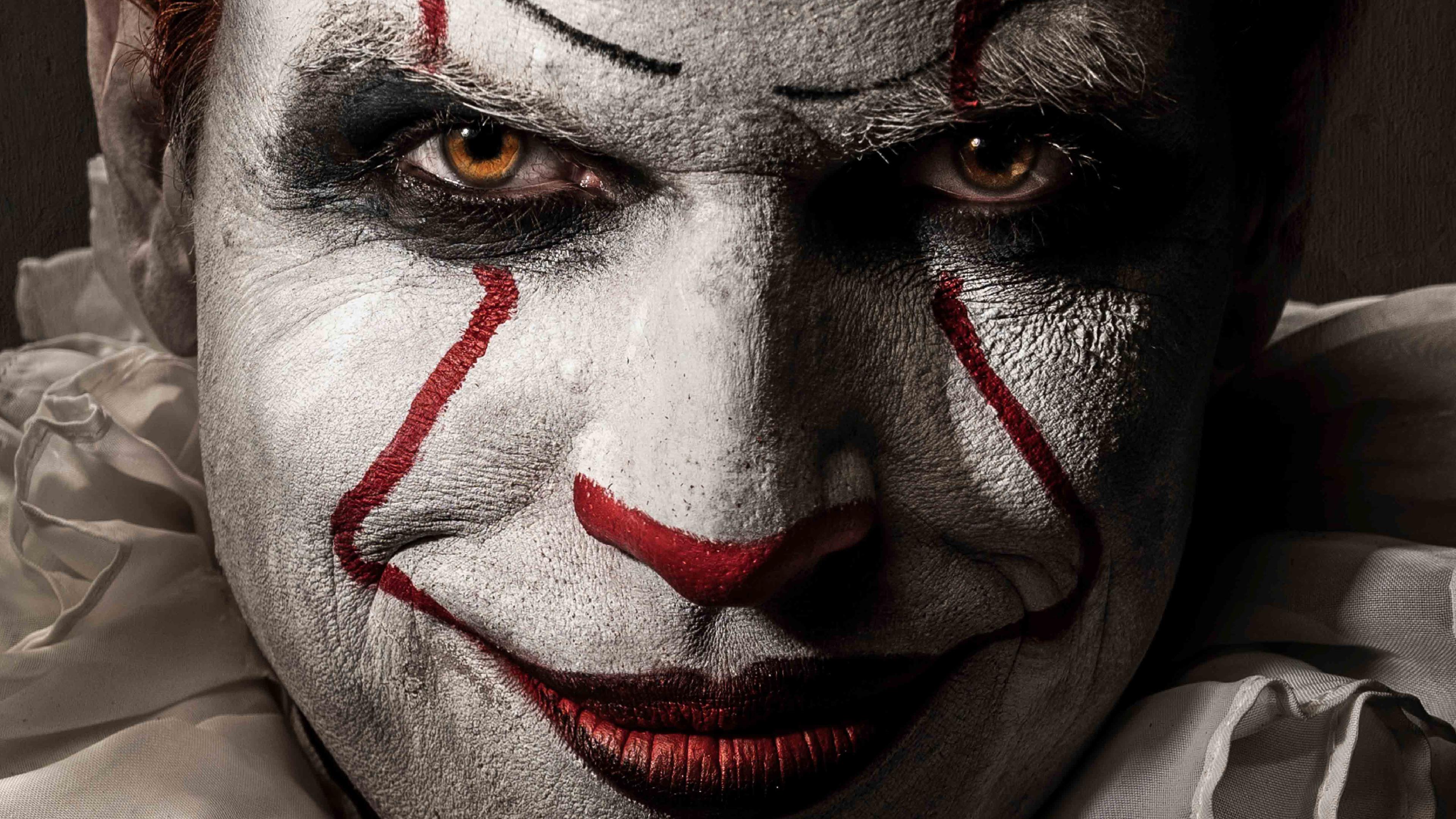 pennywise joker 4k 1543105210 - Pennywise Joker 4k - pennywise wallpapers, movies wallpapers, joker wallpapers, it wallpapers, hd-wallpapers, clown wallpapers, 5k wallpapers, 4k-wallpapers, 2017 movies wallpapers