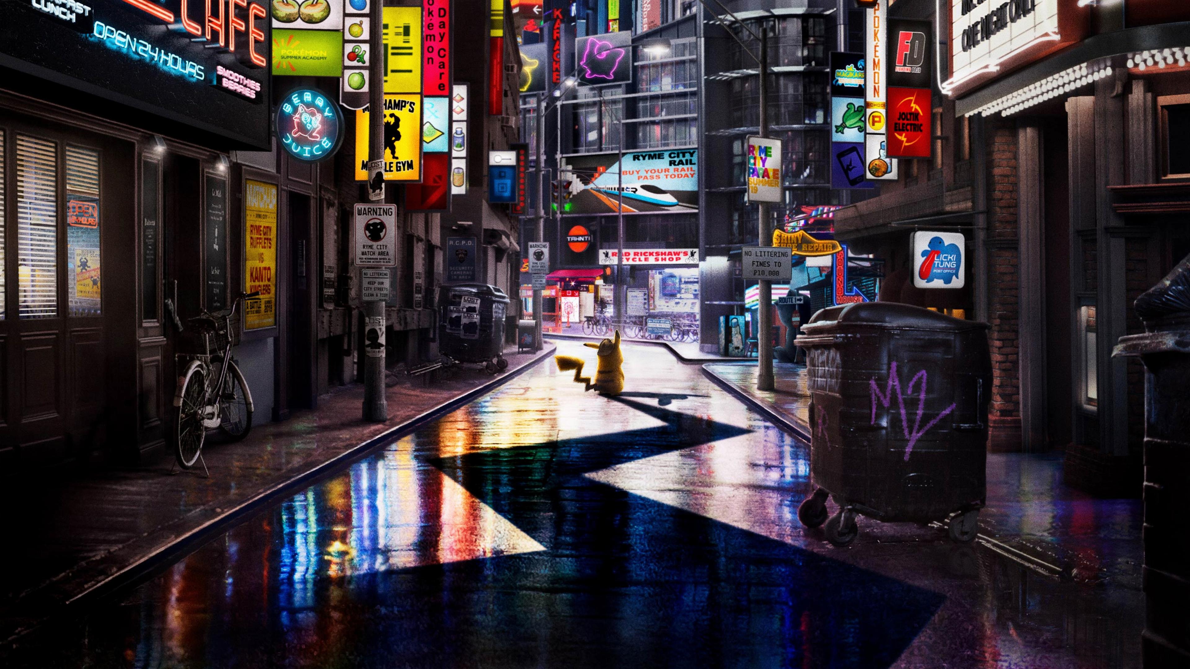 pokemon detective pikachu 4k 1543105544 - Pokemon Detective Pikachu 4k - pokemon detective pikachu wallpapers, movies wallpapers, hd-wallpapers, detective pikachu movie wallpapers, 8k wallpapers, 5k wallpapers, 4k-wallpapers, 2019 movies wallpapers