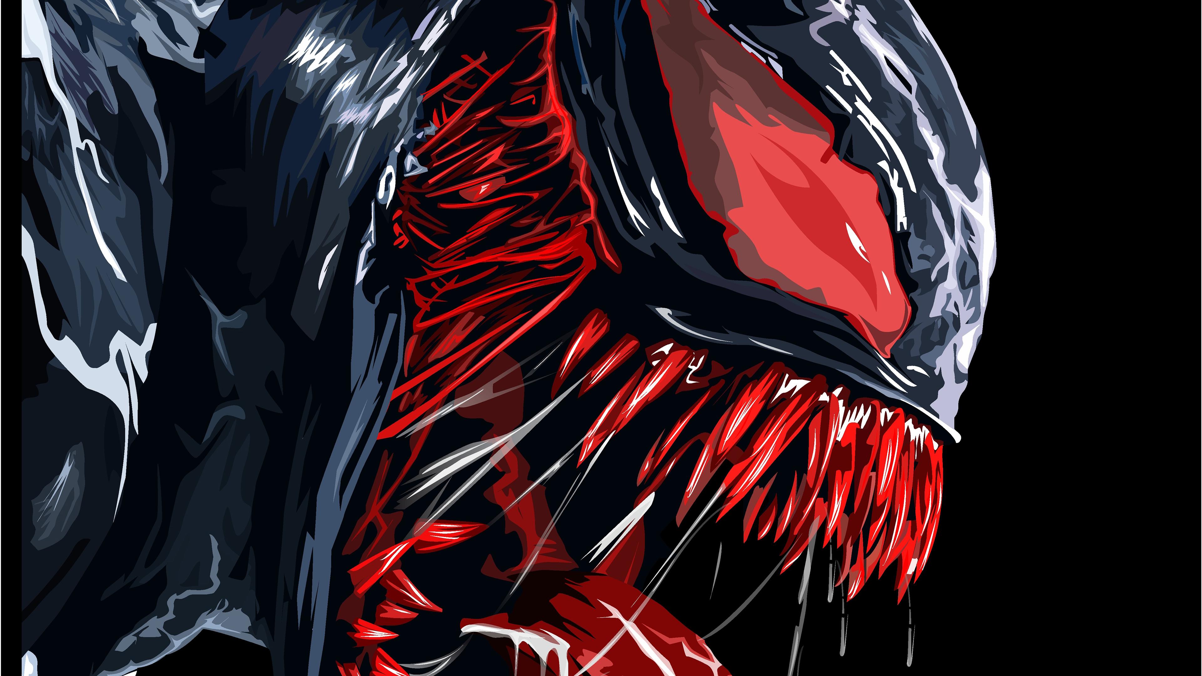 red venom artwork 4k 1543618789 - Red Venom Artwork 4k - Venom wallpapers, superheroes wallpapers, hd-wallpapers, digital art wallpapers, behance wallpapers, artwork wallpapers, 4k-wallpapers